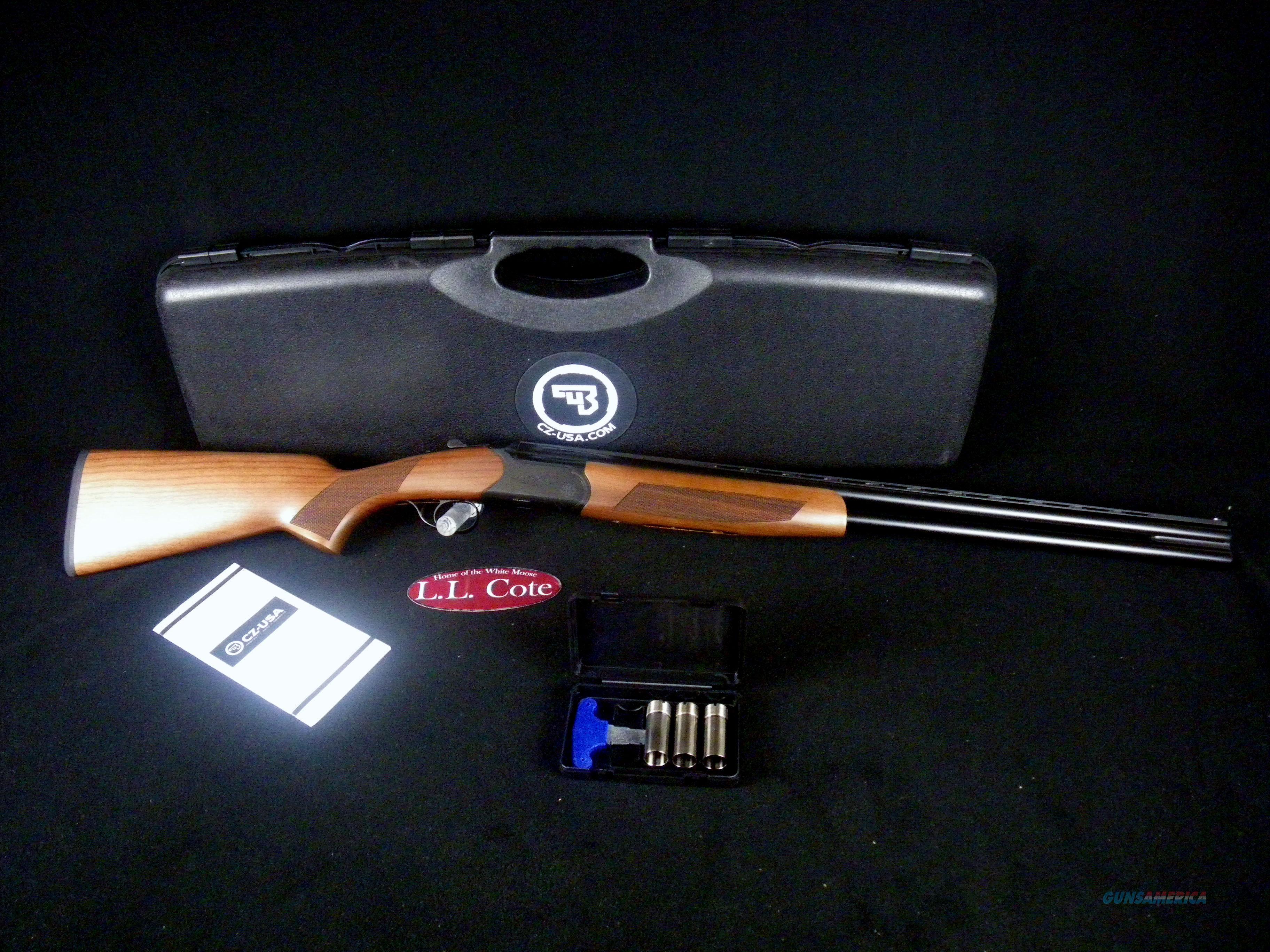 "CZ Drake Southpaw LH 20ga 28"" Wood NEW 3"" 06487  Guns > Shotguns > CZ Shotguns"
