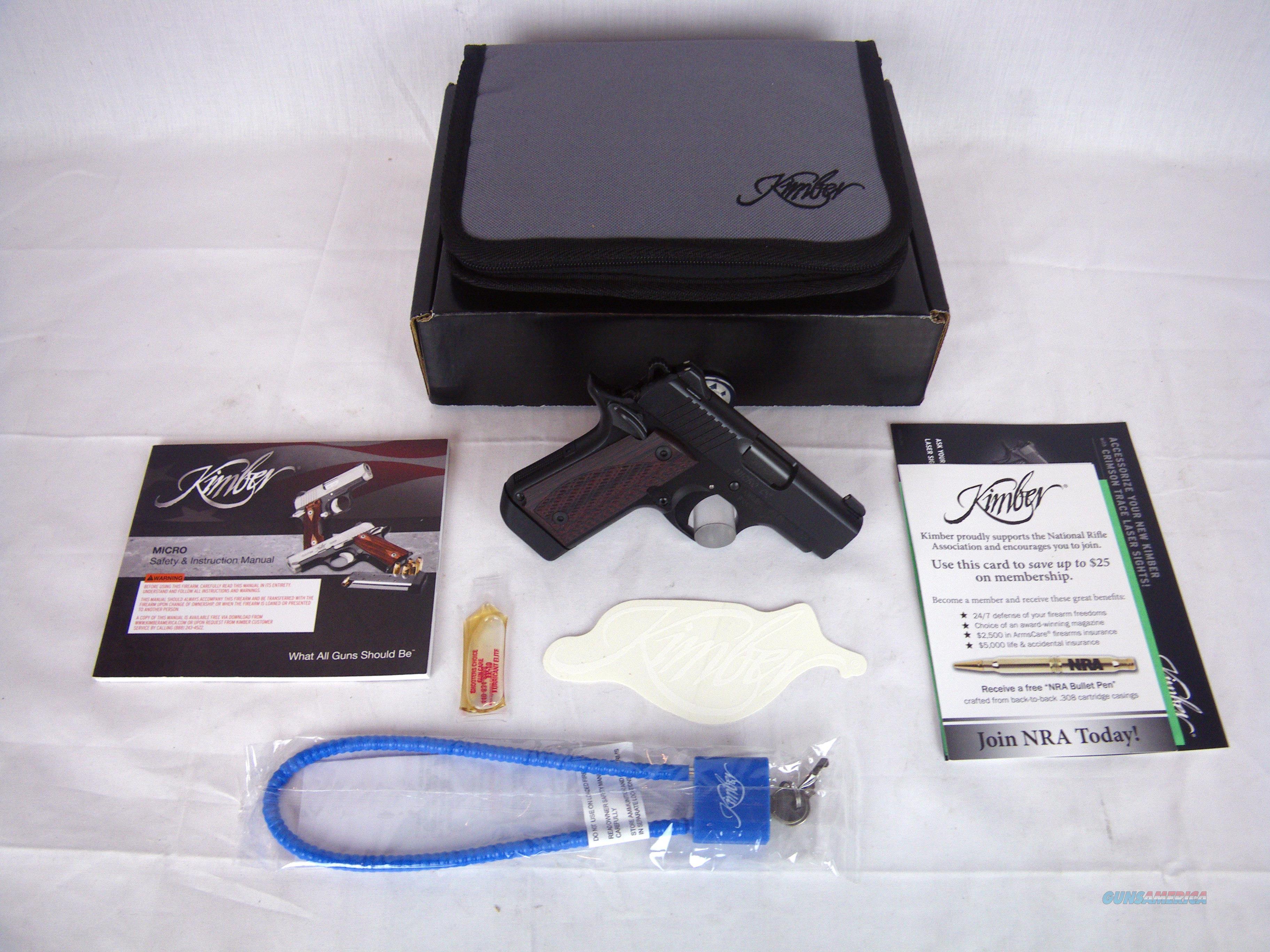 "Kimber Micro DC Deep Cover 380 ACP 2.75"" NEW #3300095  Guns > Pistols > Kimber of America Pistols"