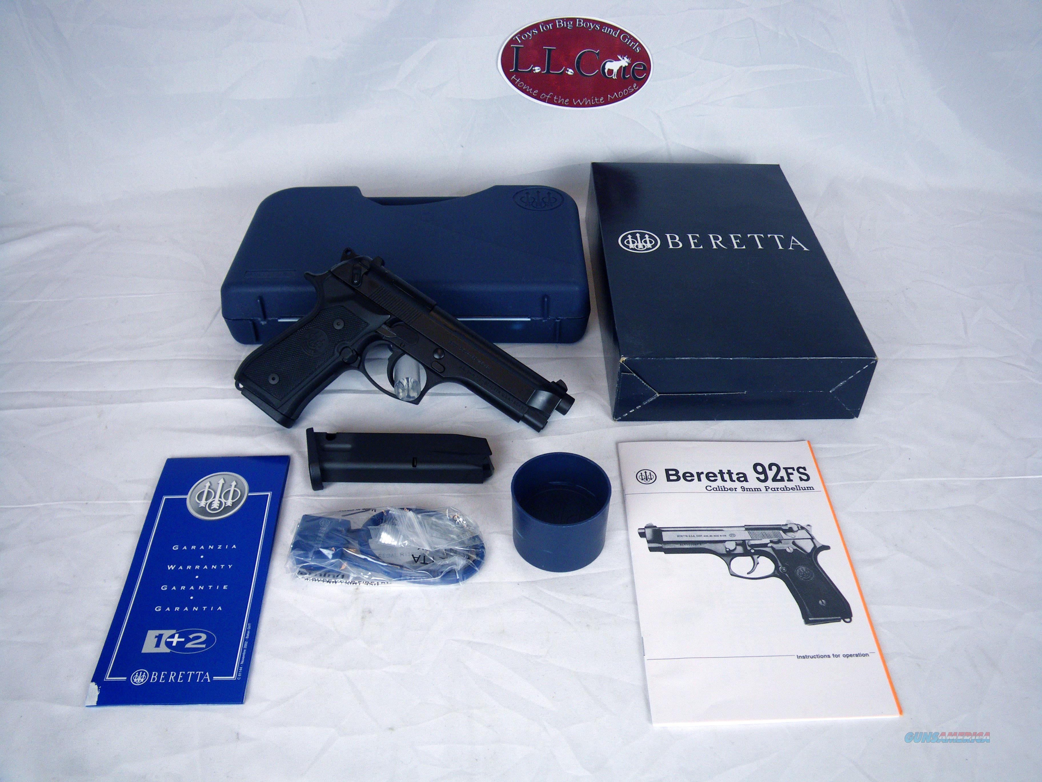 """Beretta M9 Semi-Auto Pistol 9mm 4.9"""" 15rd J92M9A0M  Guns > Pistols > Beretta Pistols > M9"""