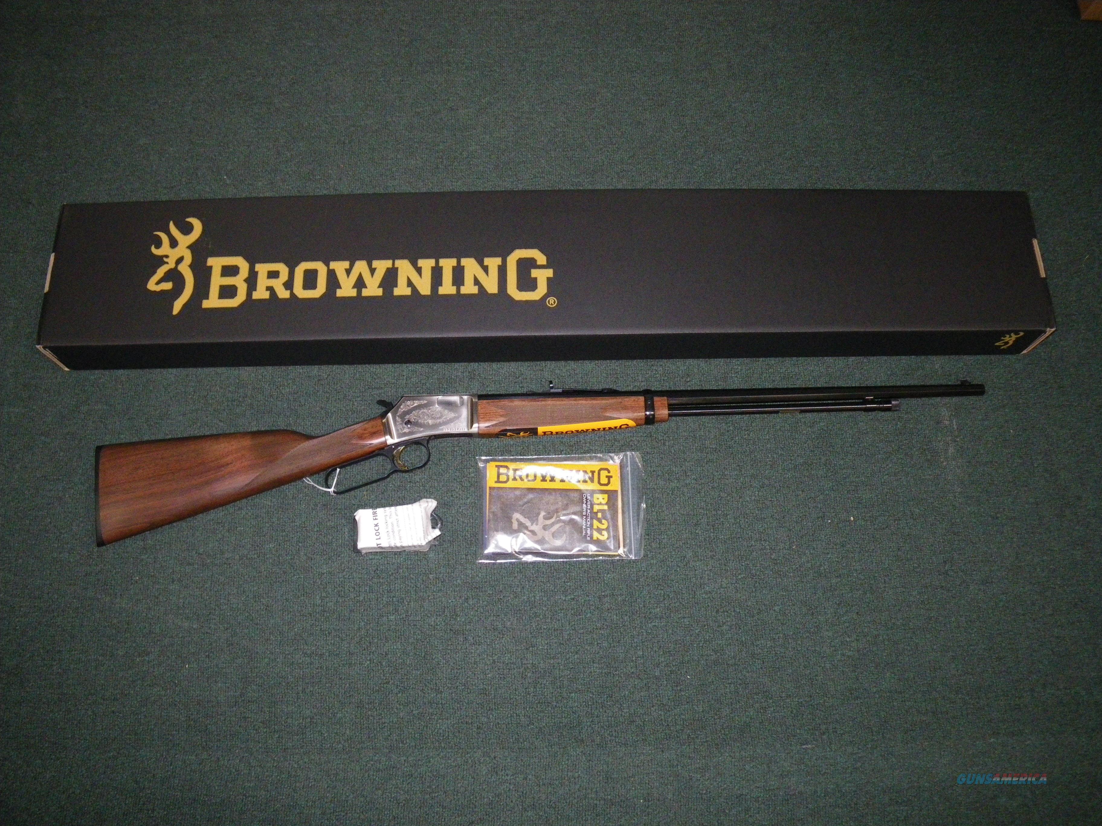 "Browning BL-22 Grade II 22lr 24"" Octagon Barrel #024105155  Guns > Rifles > Browning Rifles > Lever Action"