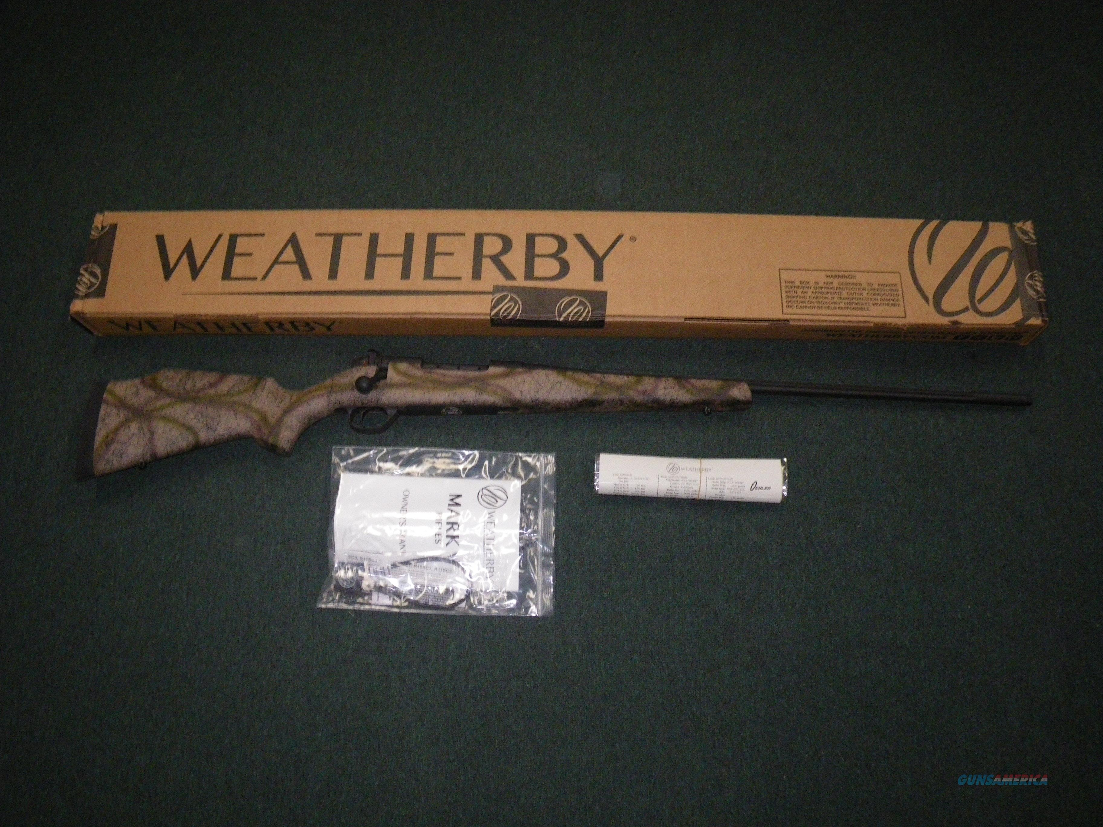 "Weatherby Mark V Outfitter 257 Wby Mag 26"" NEW MOFM257WR6O  Guns > Rifles > Weatherby Rifles > Sporting"