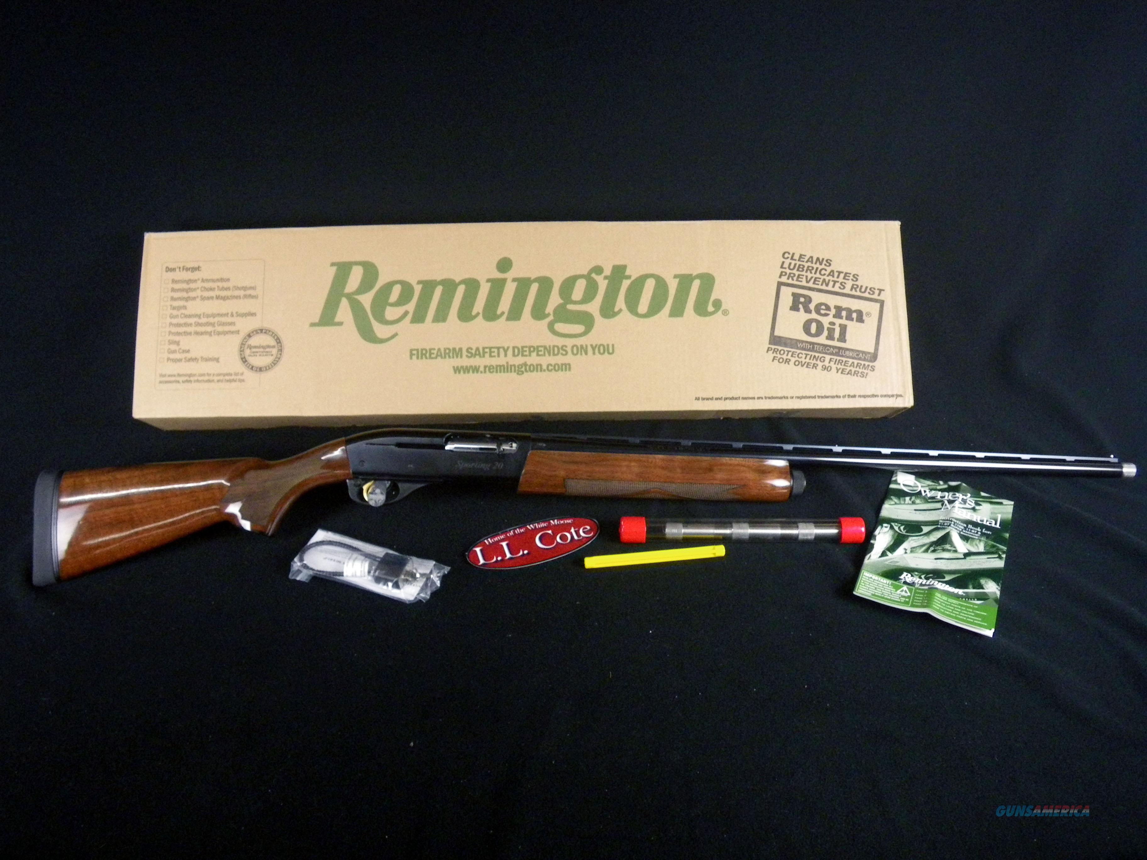 "Remington Model 1100 Sporting 20ga 28"" NEW 2.75"" 25399  Guns > Shotguns > Remington Shotguns  > Autoloaders > Hunting"