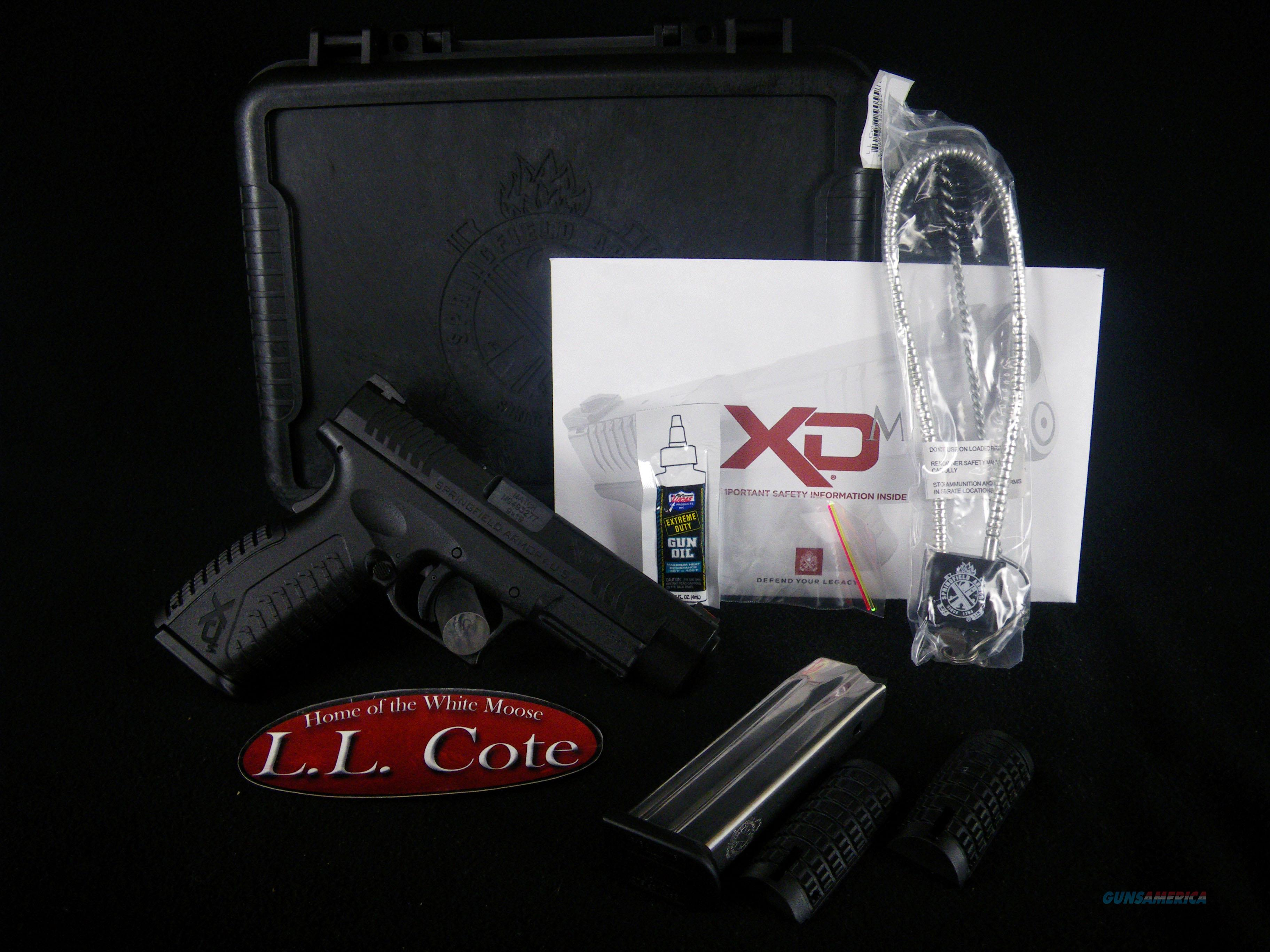 "Springfield XD(M) Full Size 9mm 4.5"" NEW XDM9201HCE  Guns > Pistols > Smith & Wesson Pistols - Autos > Polymer Frame"