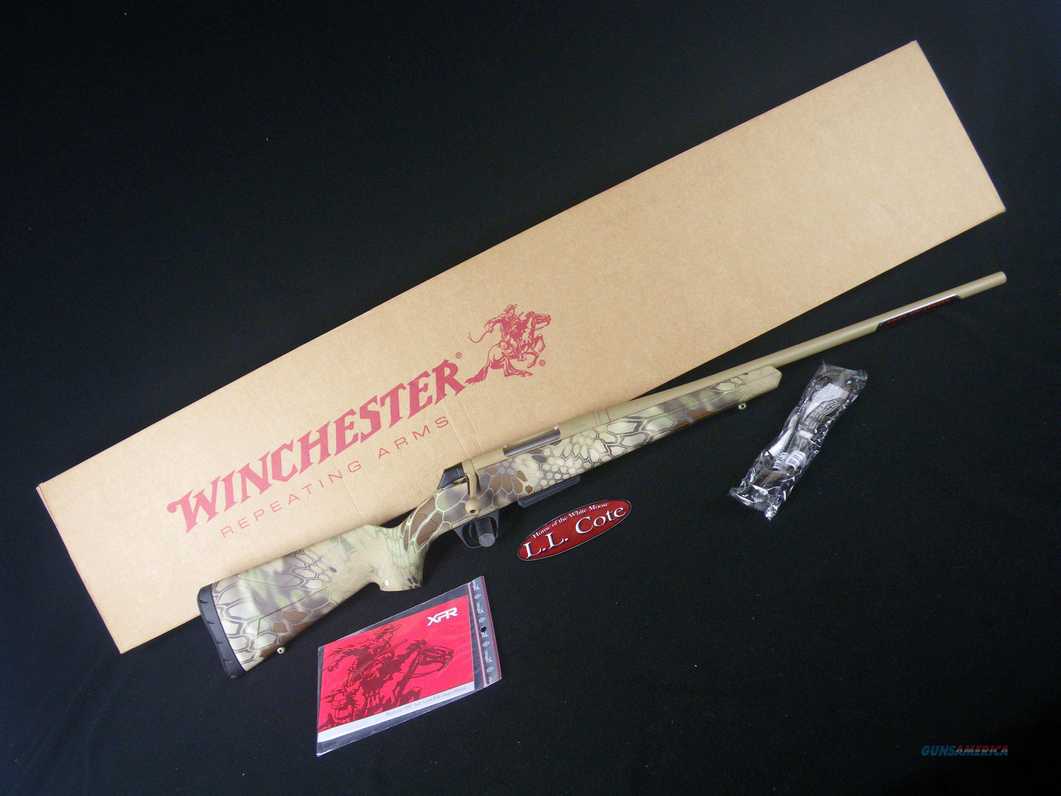 """Winchester XPR Hunter Kryptek 308 Win 22"""" NEW 535726220  Guns > Rifles > Winchester Rifles - Modern Bolt/Auto/Single > Other Bolt Action"""