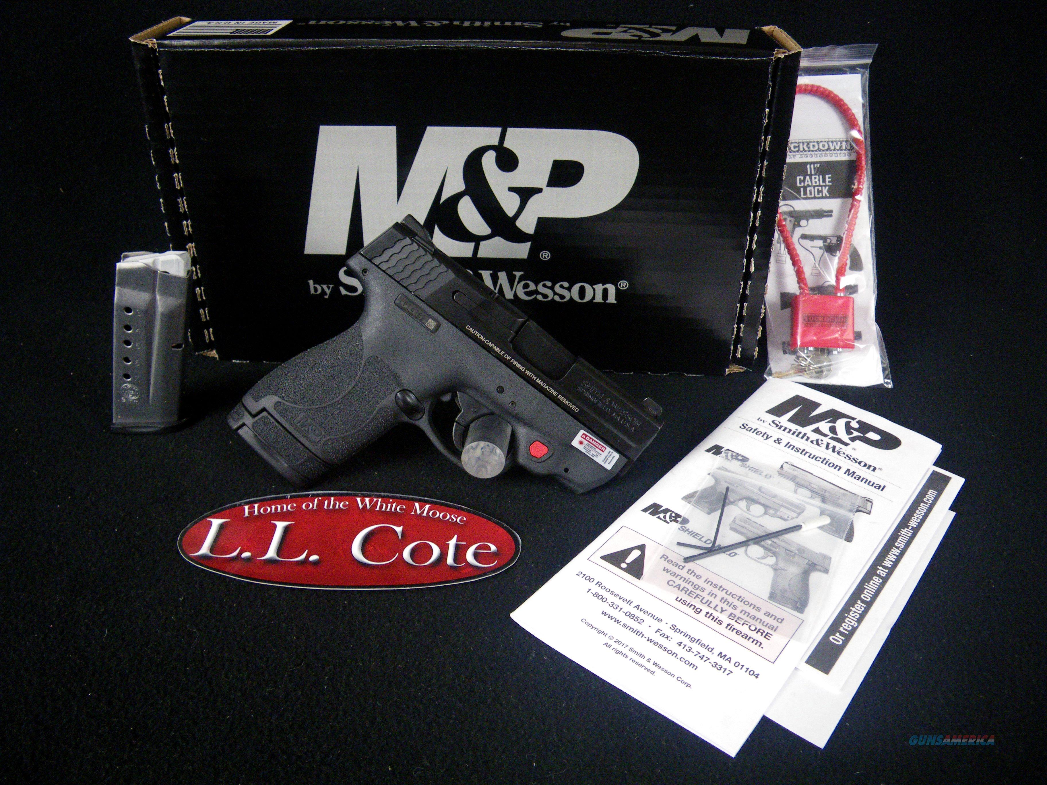 "Smith & Wesson M&P9 Shield M2.0 W/Laser 9mm 3"" NEW 11671  Guns > Pistols > Smith & Wesson Pistols - Autos > Steel Frame"