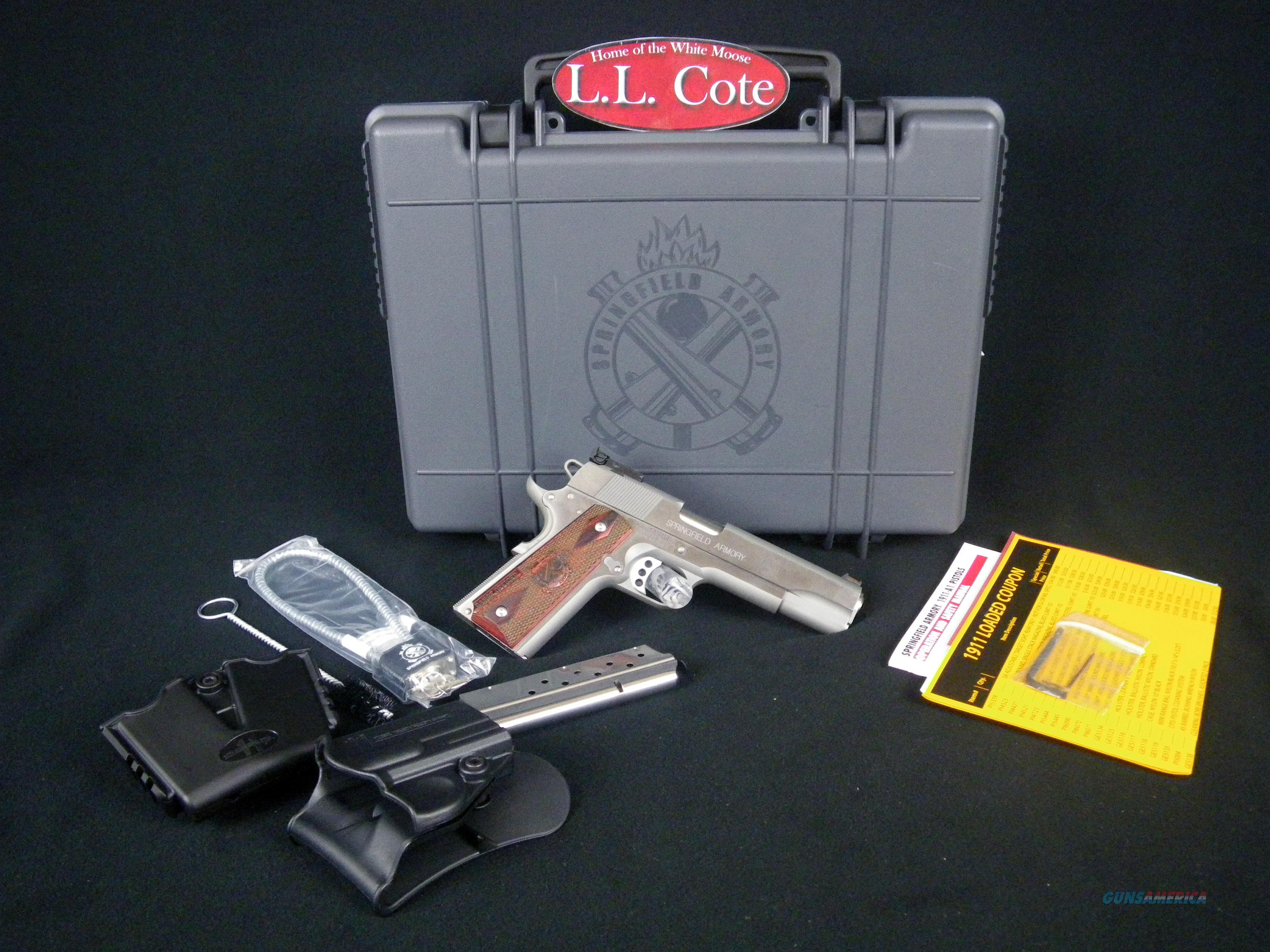 "Springfield 1911-A1 Range Officer 9mm 5"" SS NEW PI9122LP  Guns > Pistols > Springfield Armory Pistols > 1911 Type"