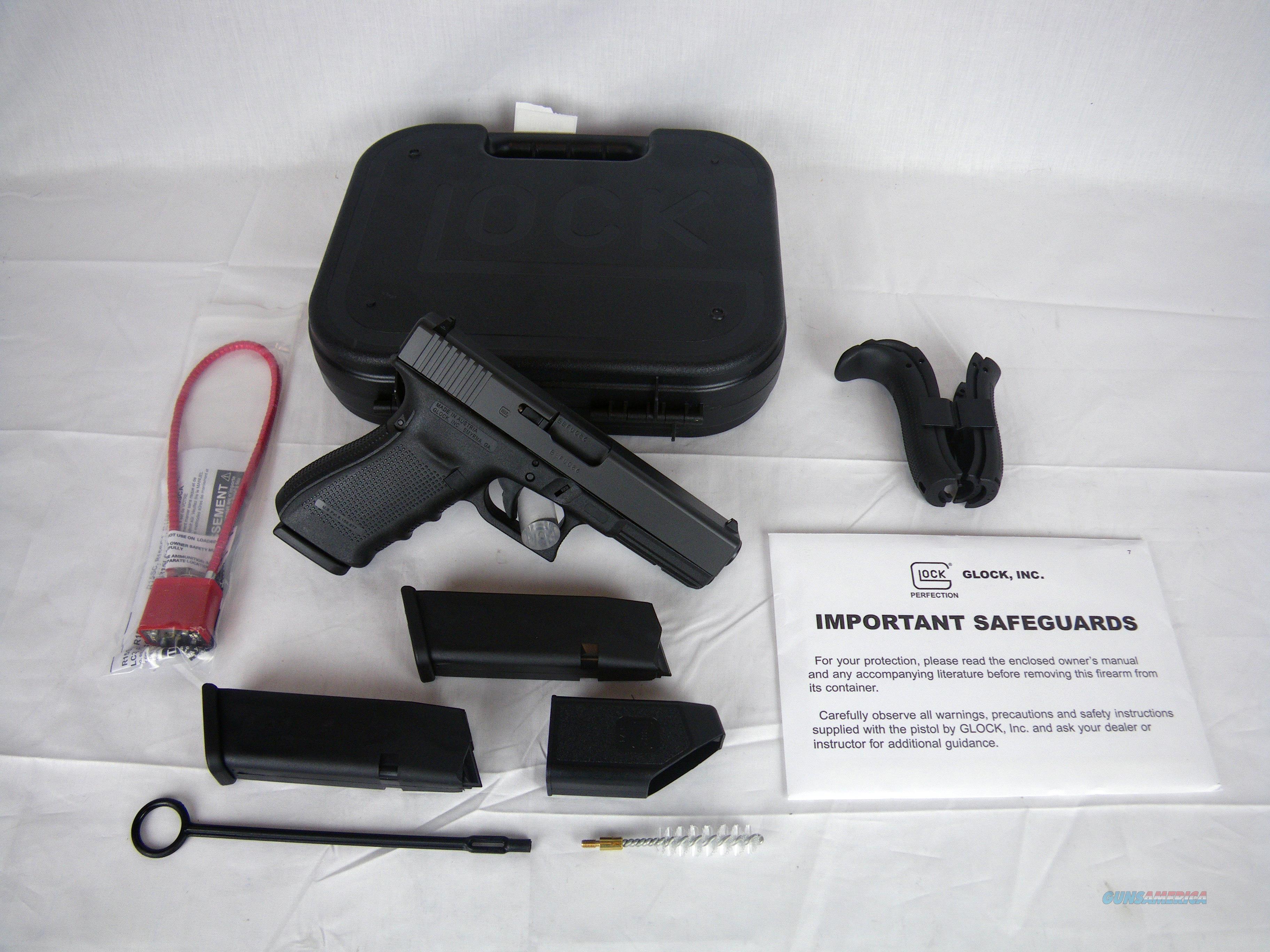 "Glock 21 Gen4 45 ACP 4.6"" 13 Round 3 Mags NEW #PG2150203  Guns > Pistols > Glock Pistols > 20/21"