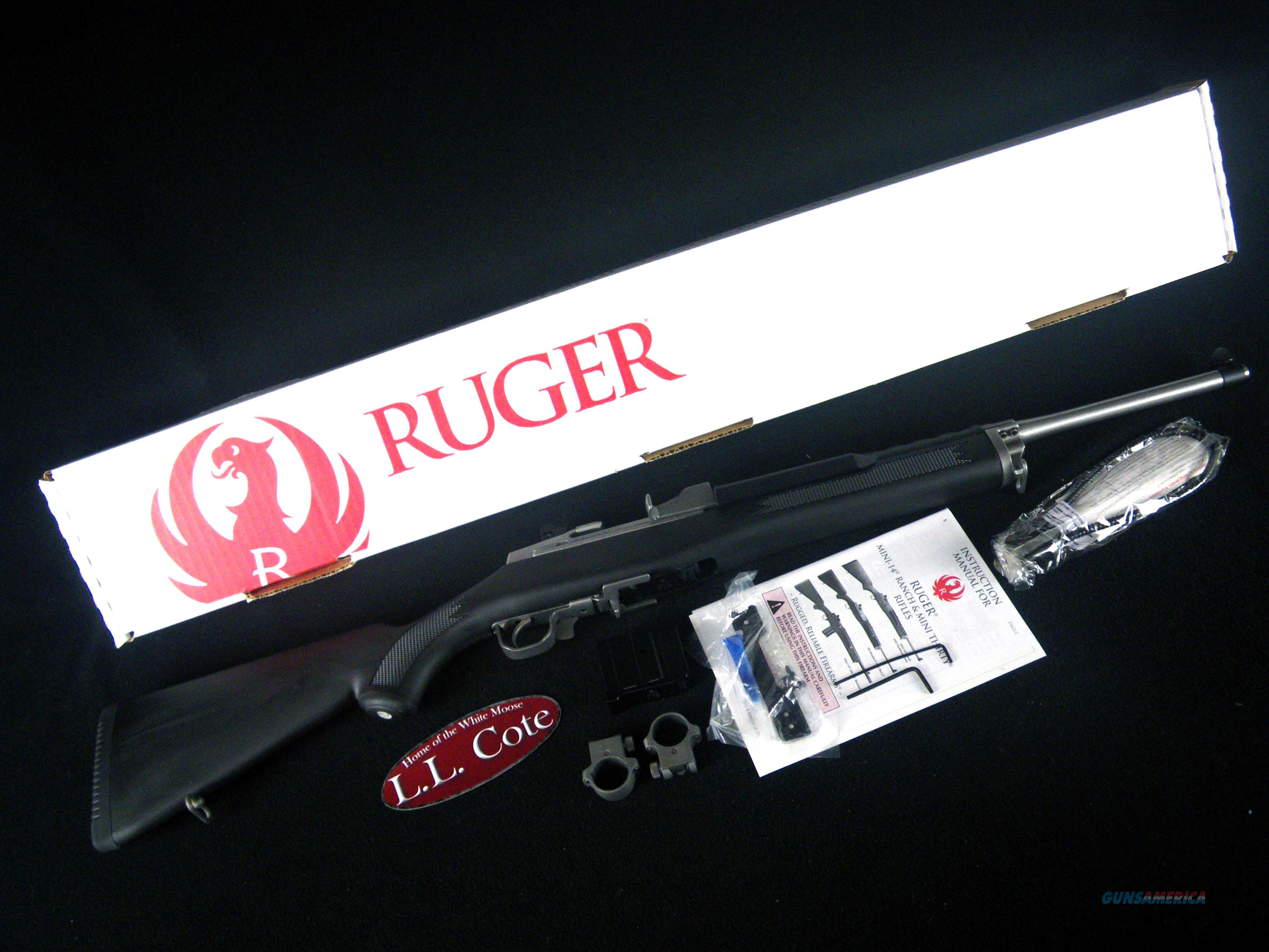 "Ruger Mini-14 Ranch Rifle 5.56mm NATO 18.5"" NEW 5805  Guns > Rifles > Ruger Rifles > Mini-14 Type"