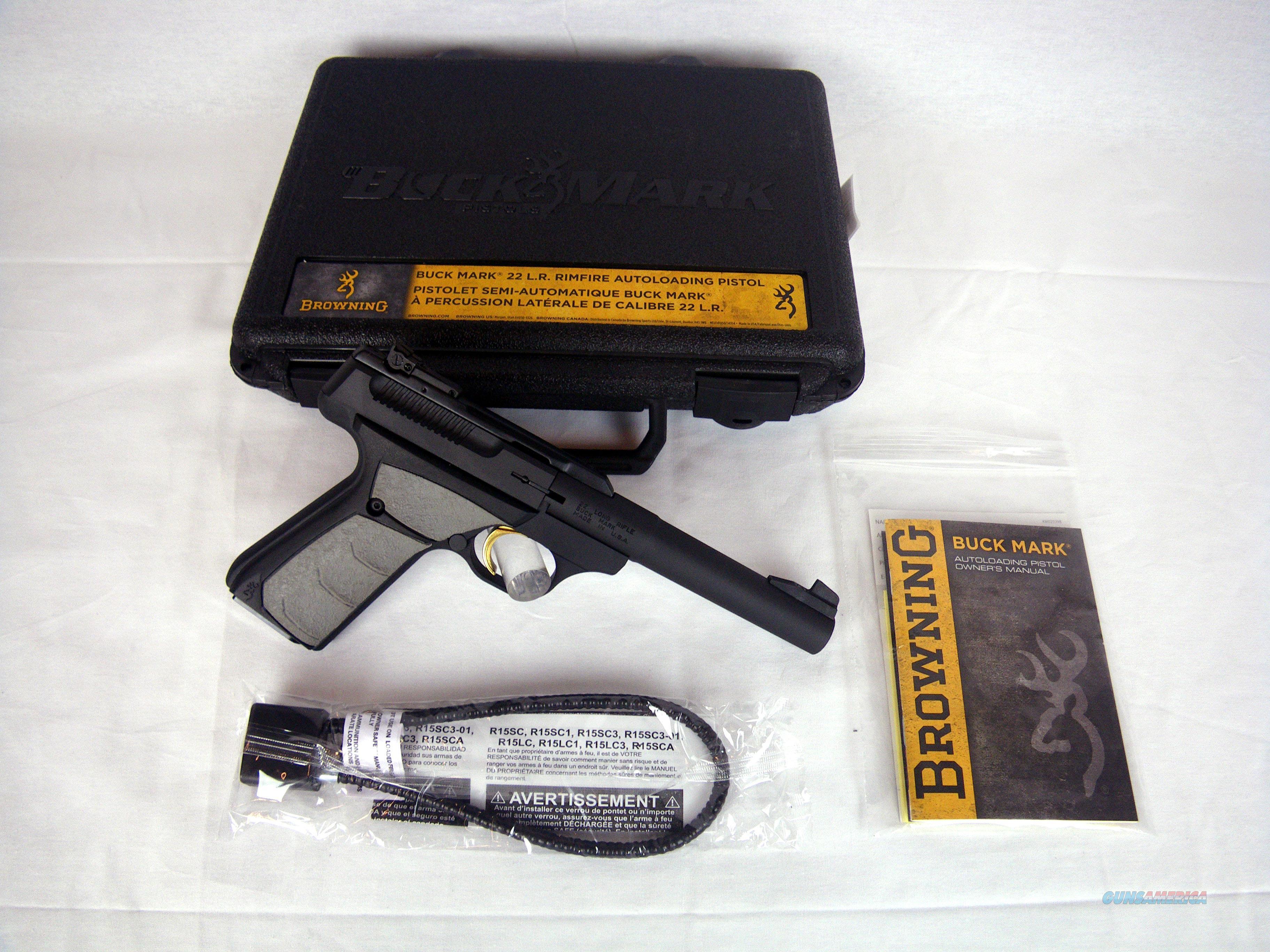 "Browning Buckmark Camper UFX 22lr 5.5"" NEW #051482490  Guns > Pistols > Browning Pistols > Buckmark"