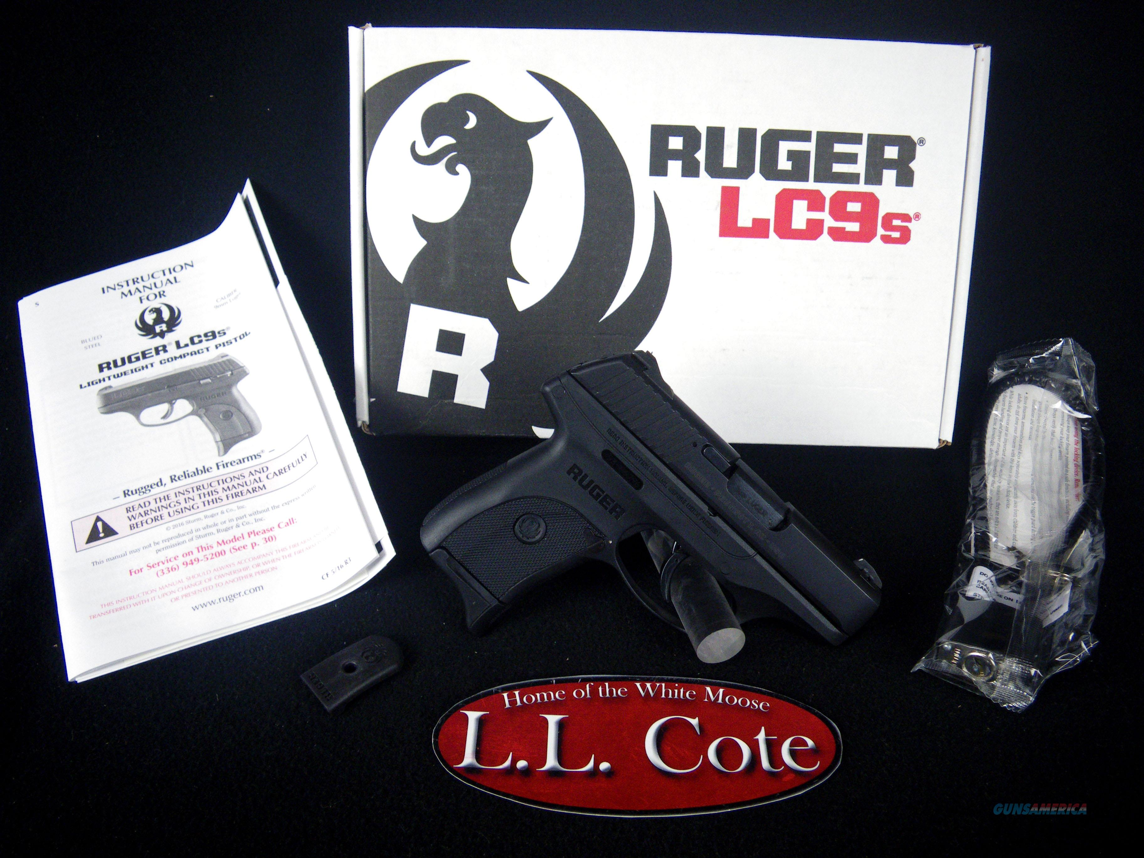 """Ruger LC9s 9mm 3.12"""" NEW Blued/Synthetic 3235  Guns > Pistols > Ruger Semi-Auto Pistols > LC9"""