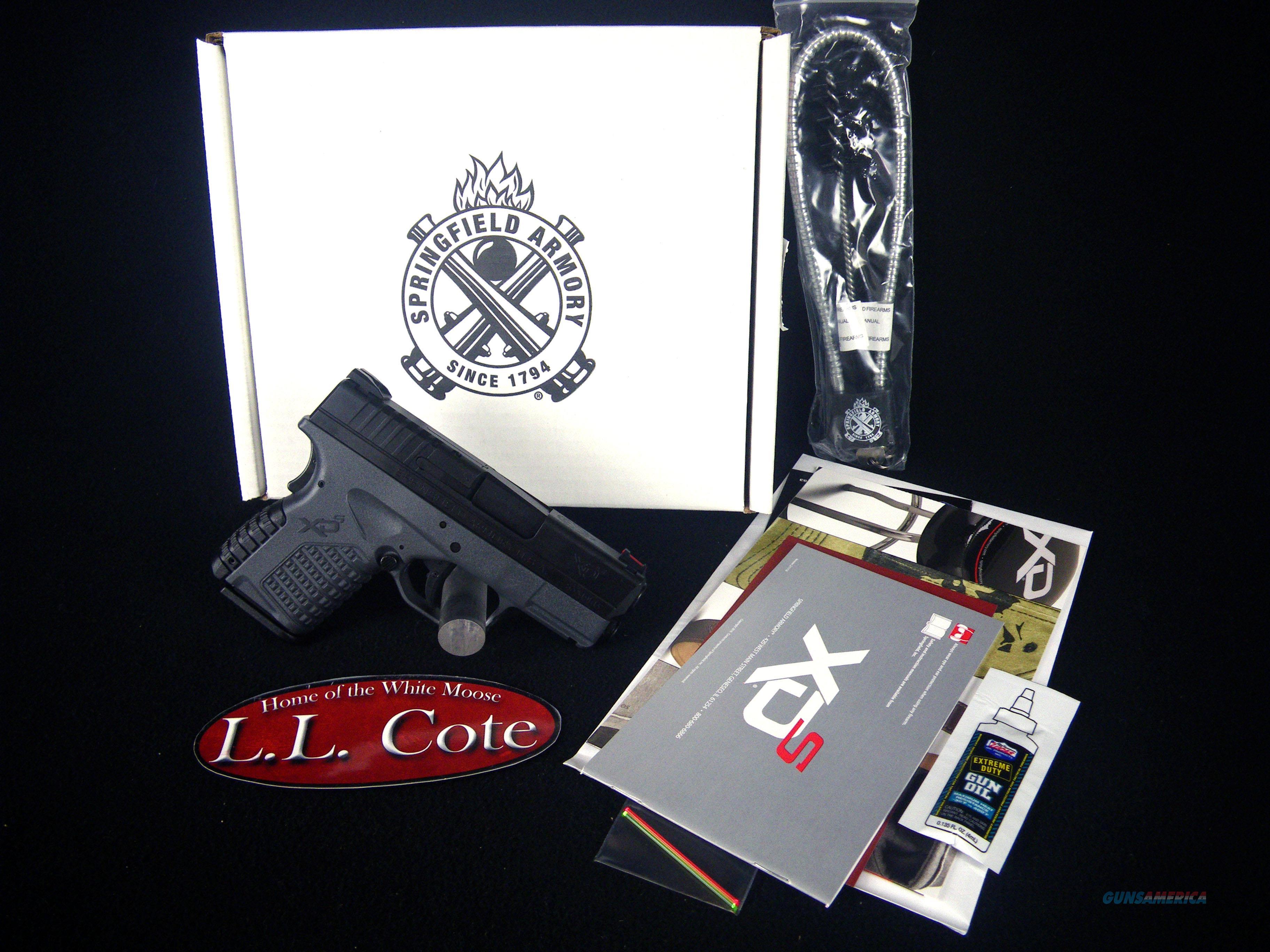 "Springfield XD-S Single Stack Black 45ACP 3.3"" NEW XDS93345YB  Guns > Pistols > Springfield Armory Pistols > XD-S"