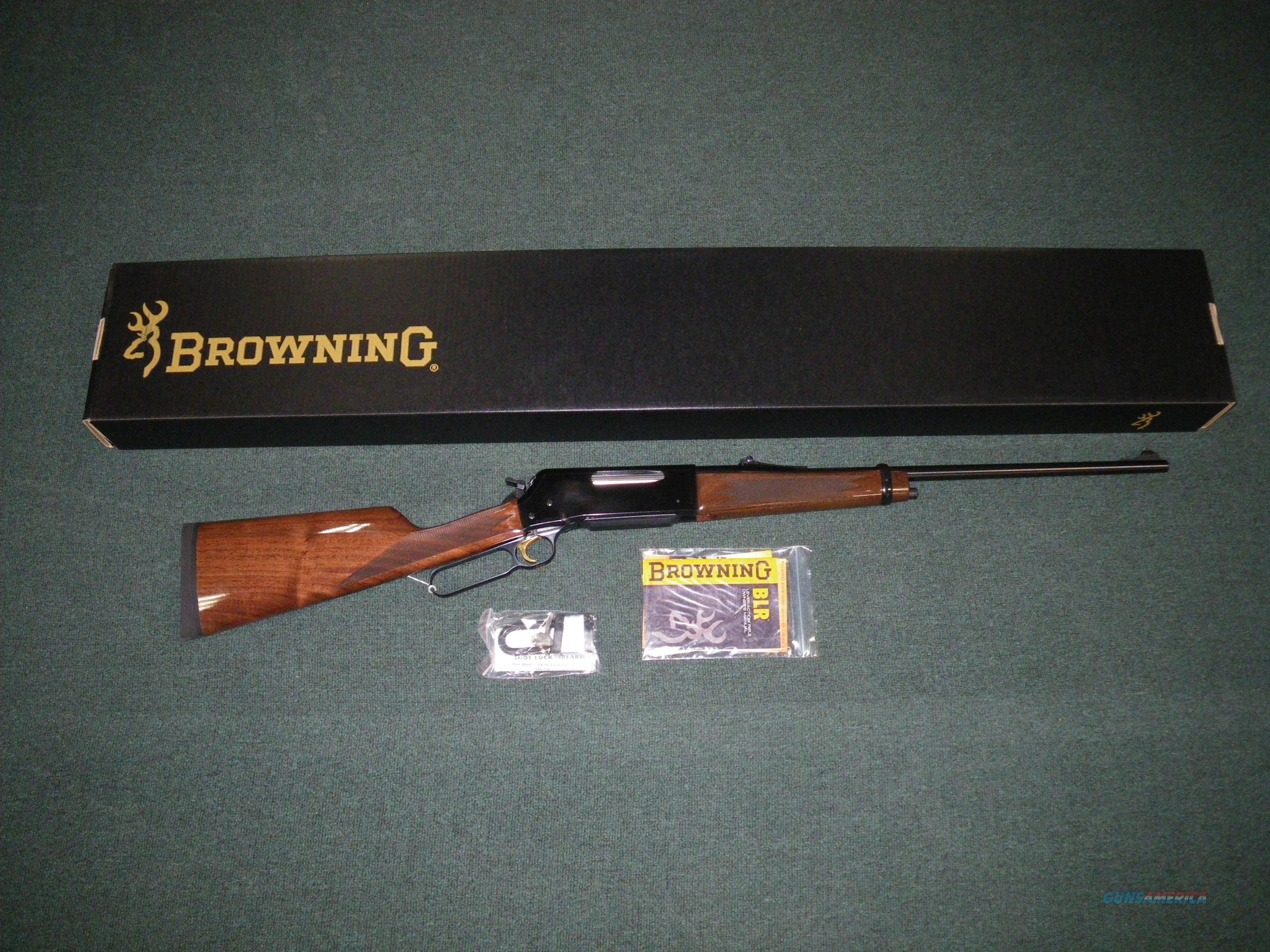 "Browning BLR Lightweight `81 300 WSM 22"" NIB Item #034006146  Guns > Rifles > Browning Rifles > Lever Action"