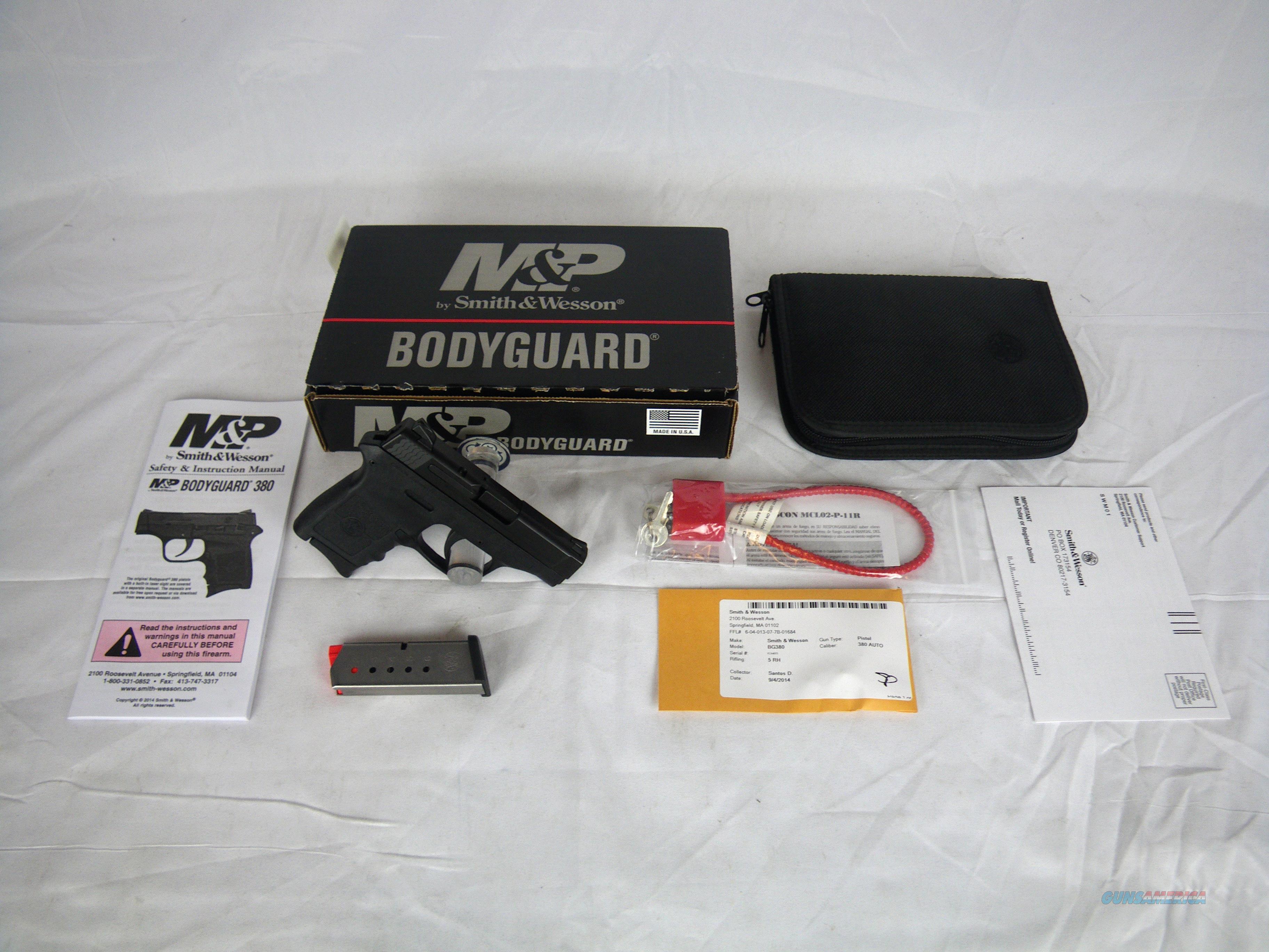 "Smith & Wesson M&P Bodyguard 380 ACP 2.75"" S&W NEW #109381  Guns > Pistols > Smith & Wesson Pistols - Autos > Polymer Frame"
