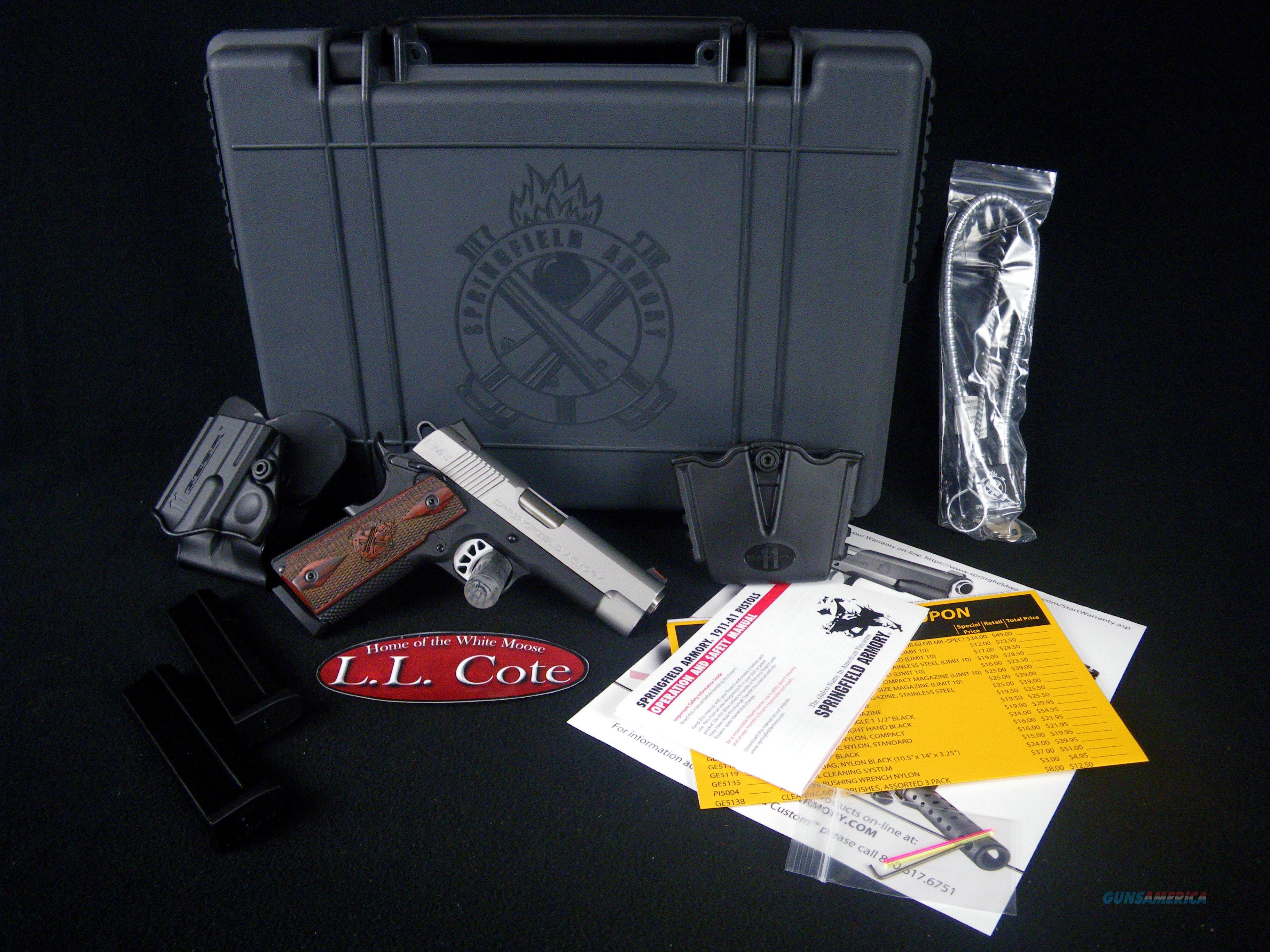 "Springfield EMP-4 Champion 9mm 4"" NEW PI9211LP  Guns > Pistols > Springfield Armory Pistols > 1911 Type"