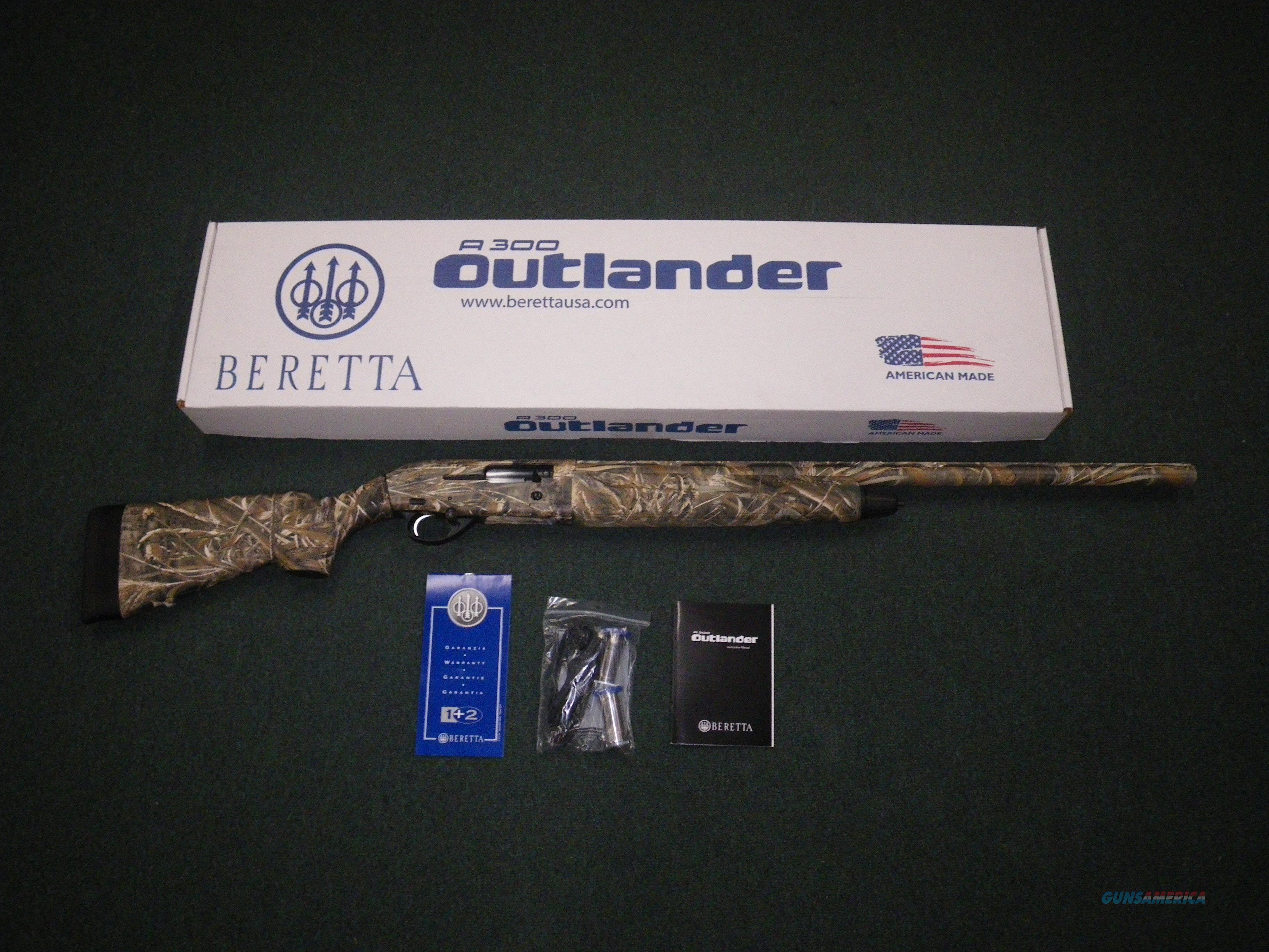 "Browning BPS Field 12ga 28"" 3"" Chmbr NEW 012284304Beretta A300 Outlander Max5 12ga 28"" NEW J30TM18  Guns > Shotguns > Beretta Shotguns > Autoloaders > Hunting"