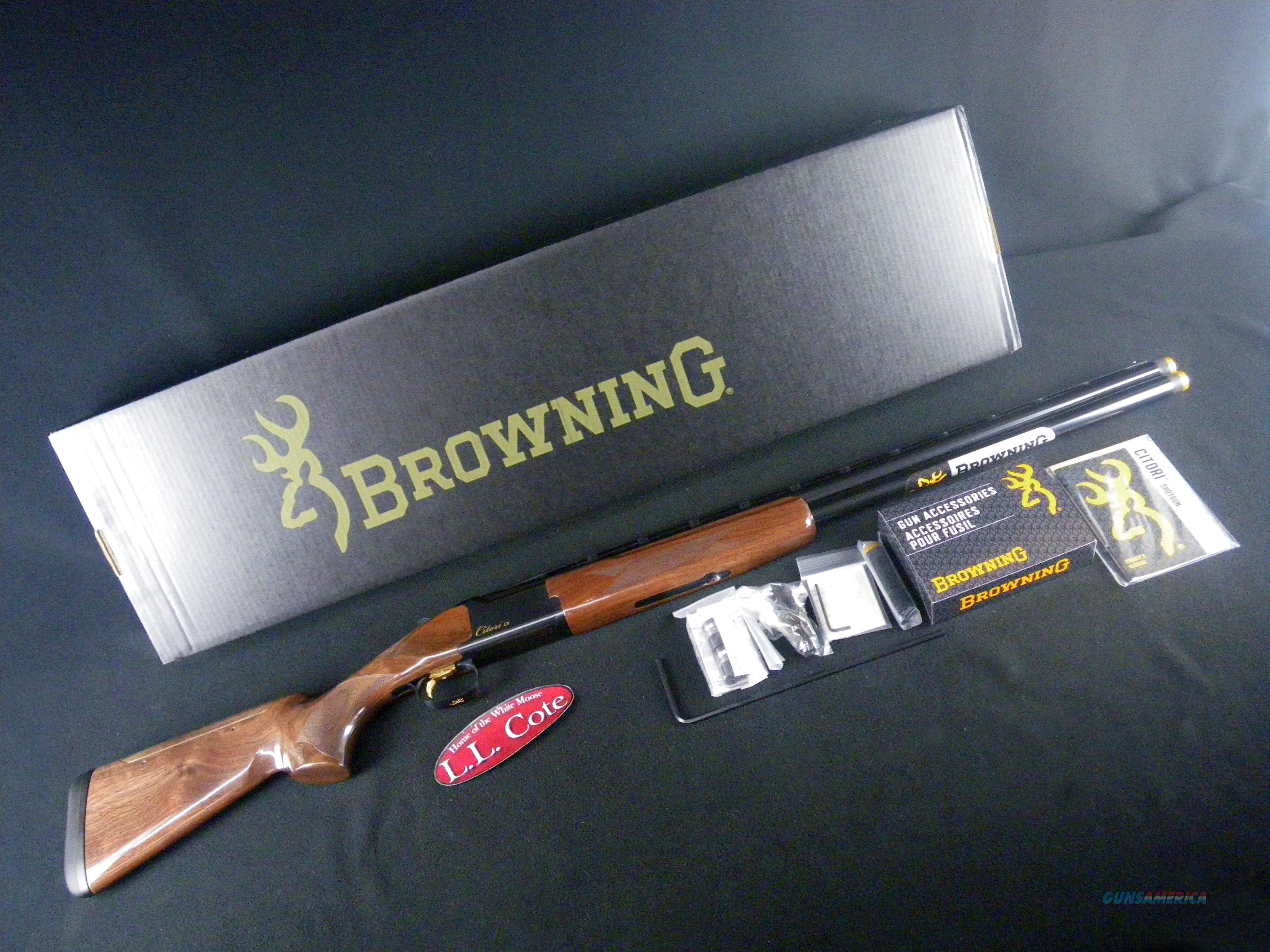 "Browning Citori CX Adj 12ga 28"" NEW 3"" 018111304  Guns > Shotguns > Browning Shotguns > Over Unders > Citori > Hunting"