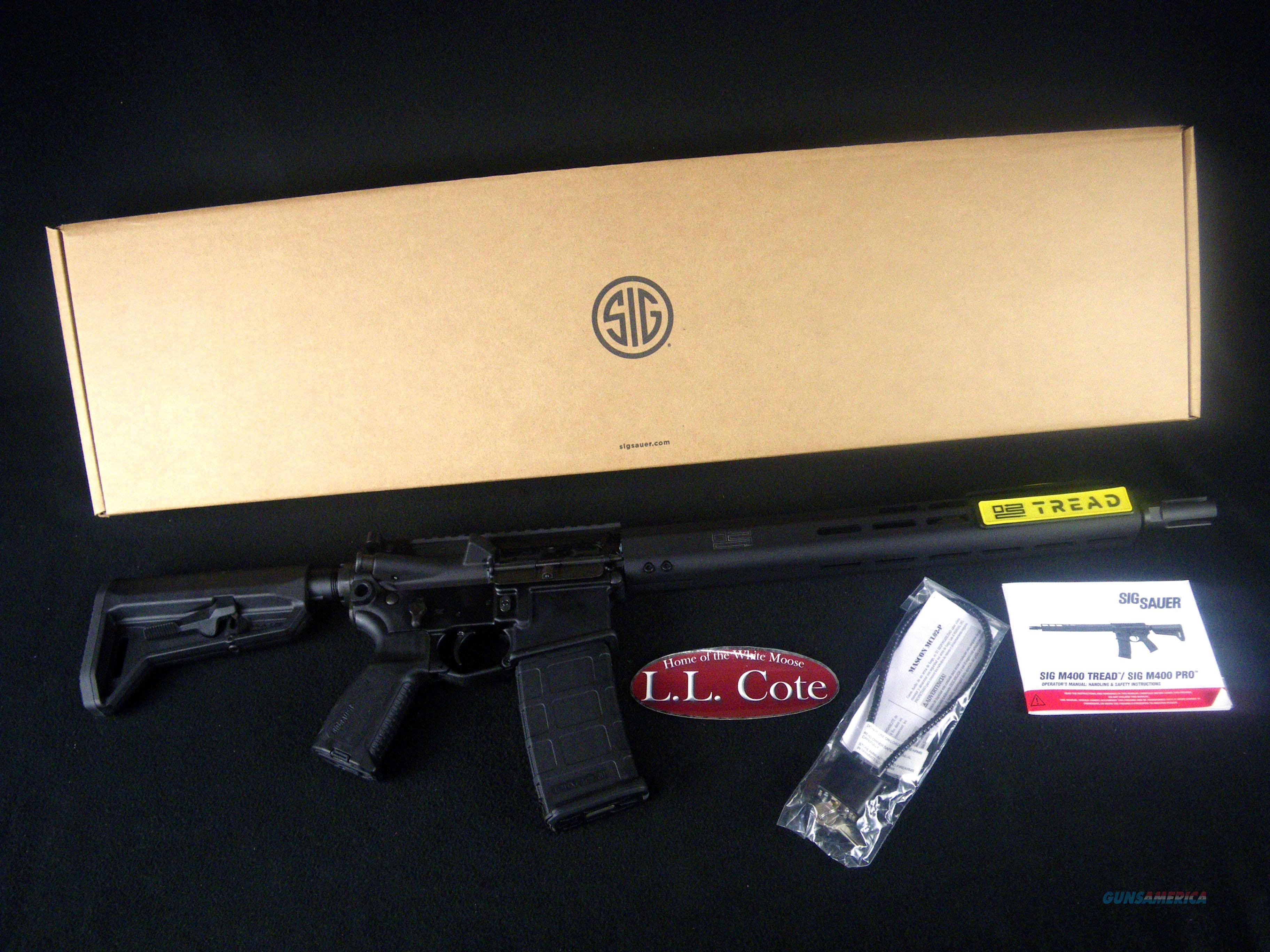 "Sig Sauer M400 Tread 5.56 NATO 16"" NEW RM400-16B-TRD  Guns > Rifles > Sig - Sauer/Sigarms Rifles"