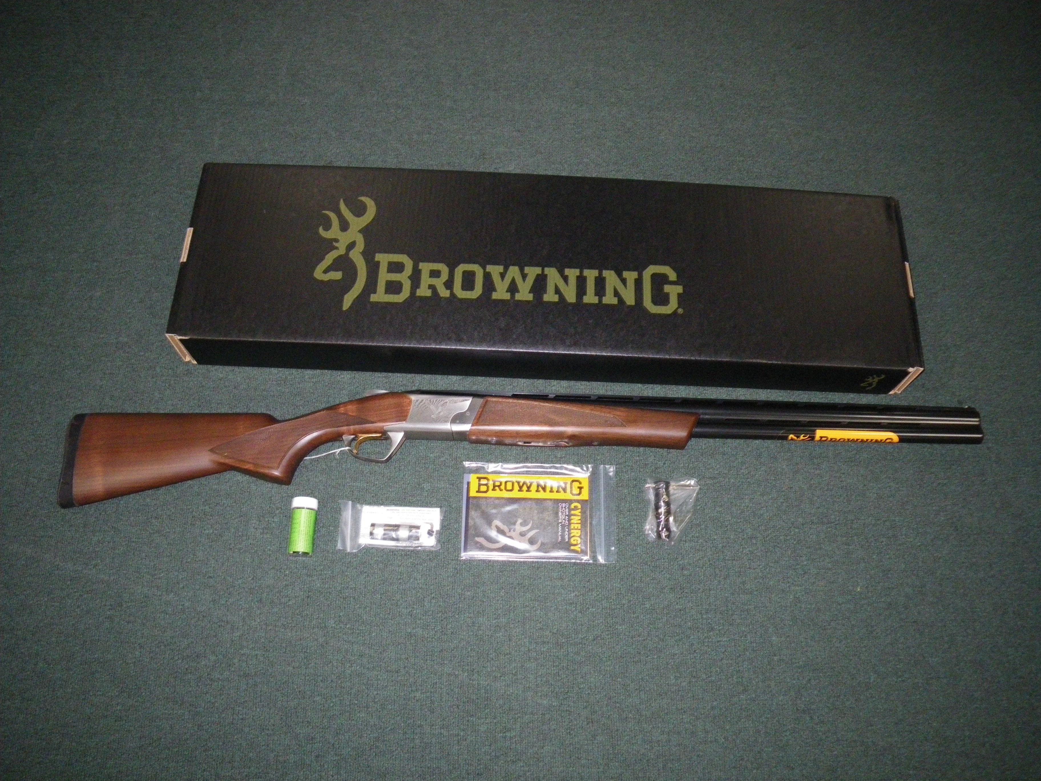 "Browning Cynergy Field 12ga 26"" 3"" Chamber NEW #018706305  Guns > Shotguns > Browning Shotguns > Over Unders > Cynergy > Hunting"