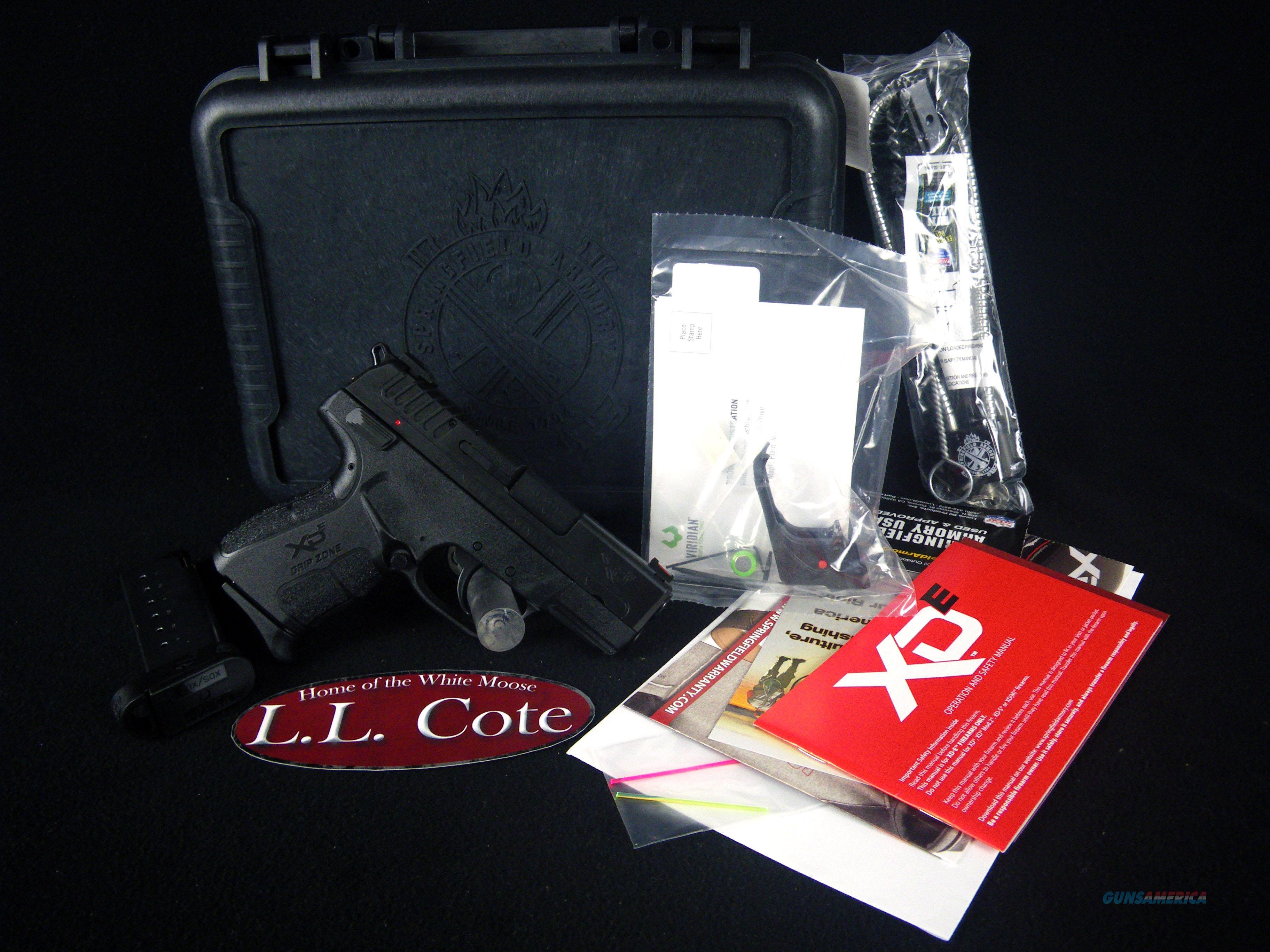 "Springfield XD-E Single Stack Laser 45ACP 3.3"" NEW XDE93345BVR  Guns > Pistols > Springfield Armory Pistols > XD-E"