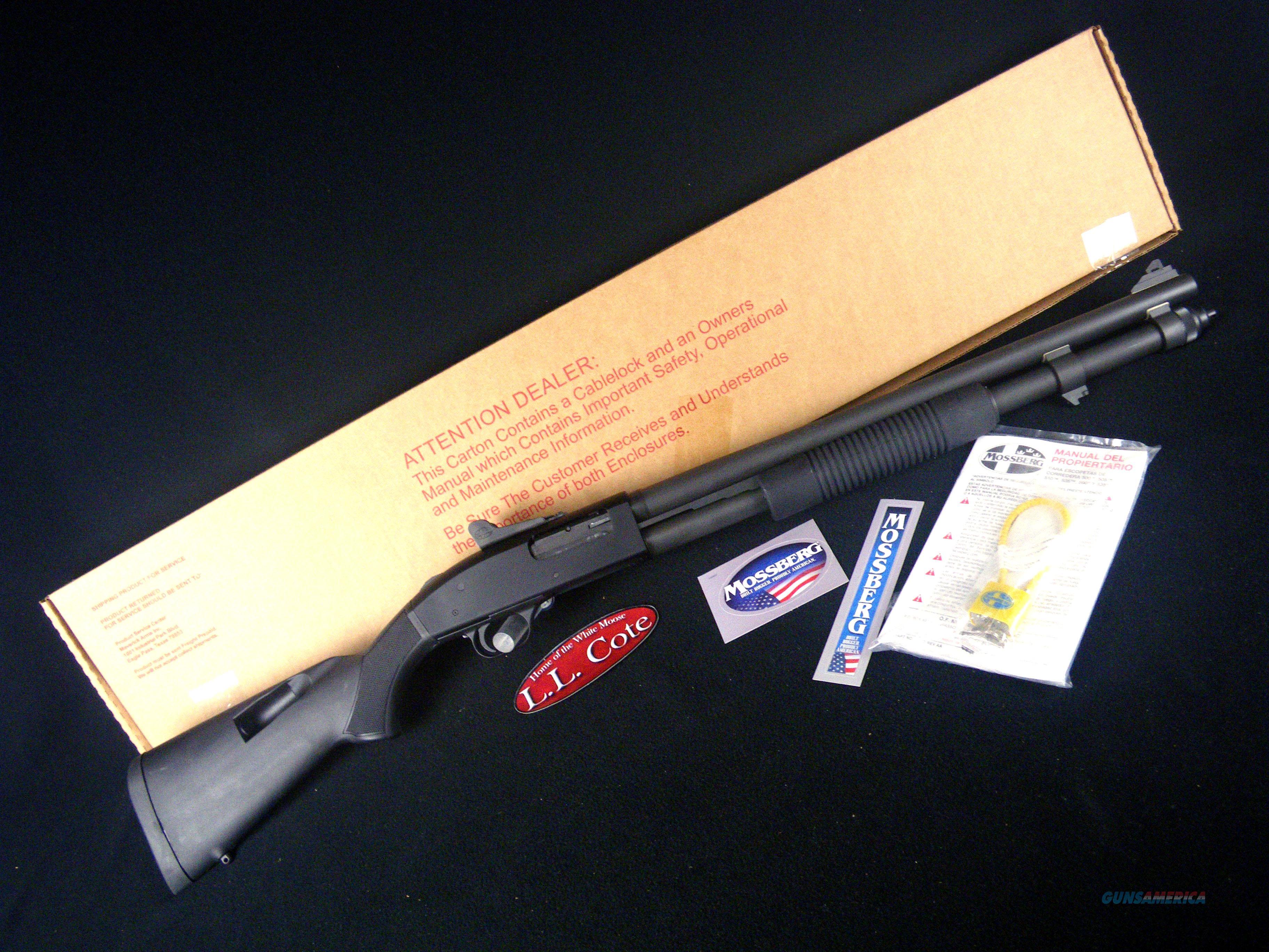 "Mossberg 590A1 9 Shot Tactical 12ga 20"" NEW 51668  Guns > Shotguns > Mossberg Shotguns > Pump > Sporting"