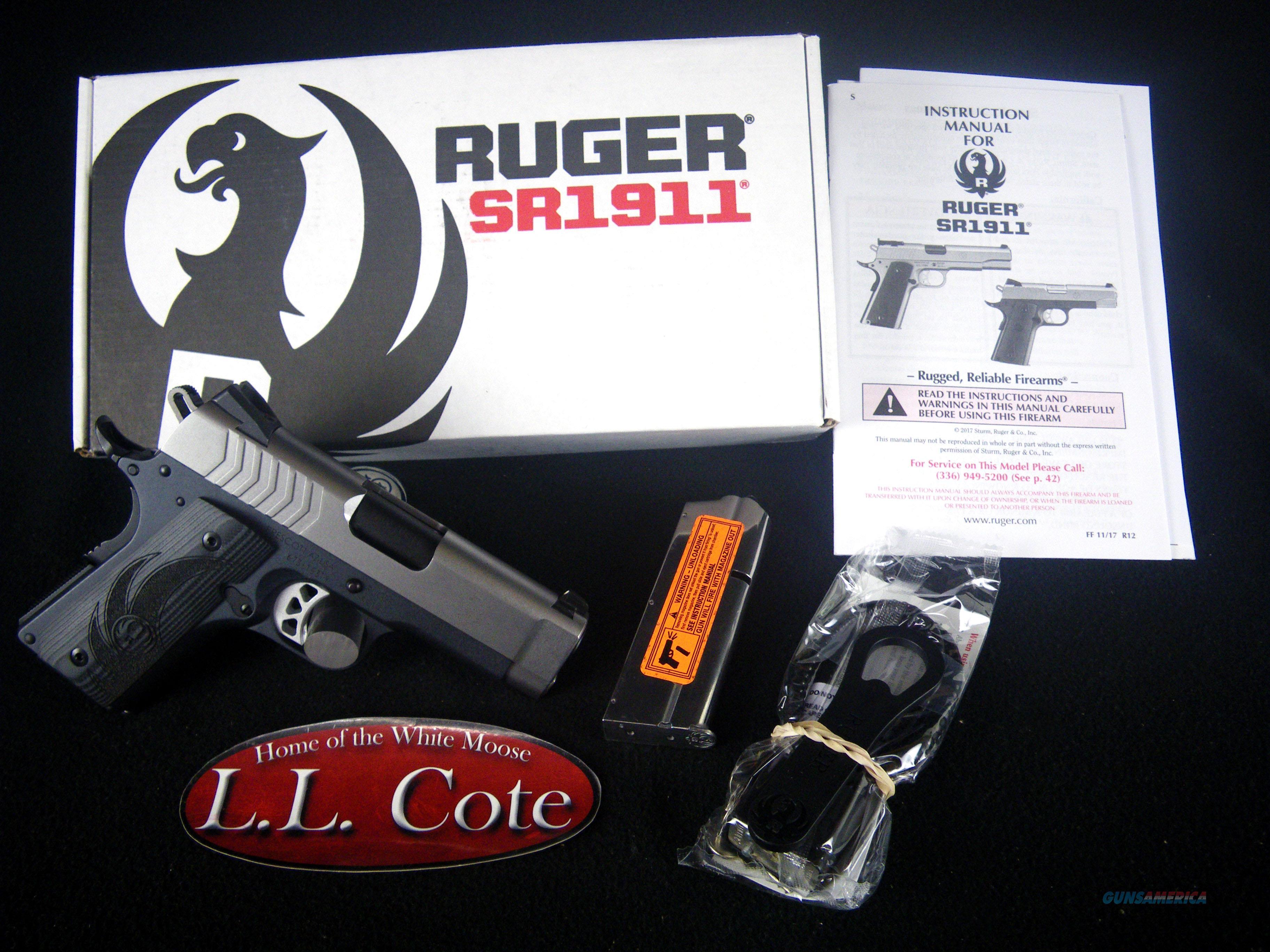 """Ruger SR1911 Lightweight Officer 9mm 3.6"""" NEW 6758  Guns > Pistols > Ruger Semi-Auto Pistols > 1911"""