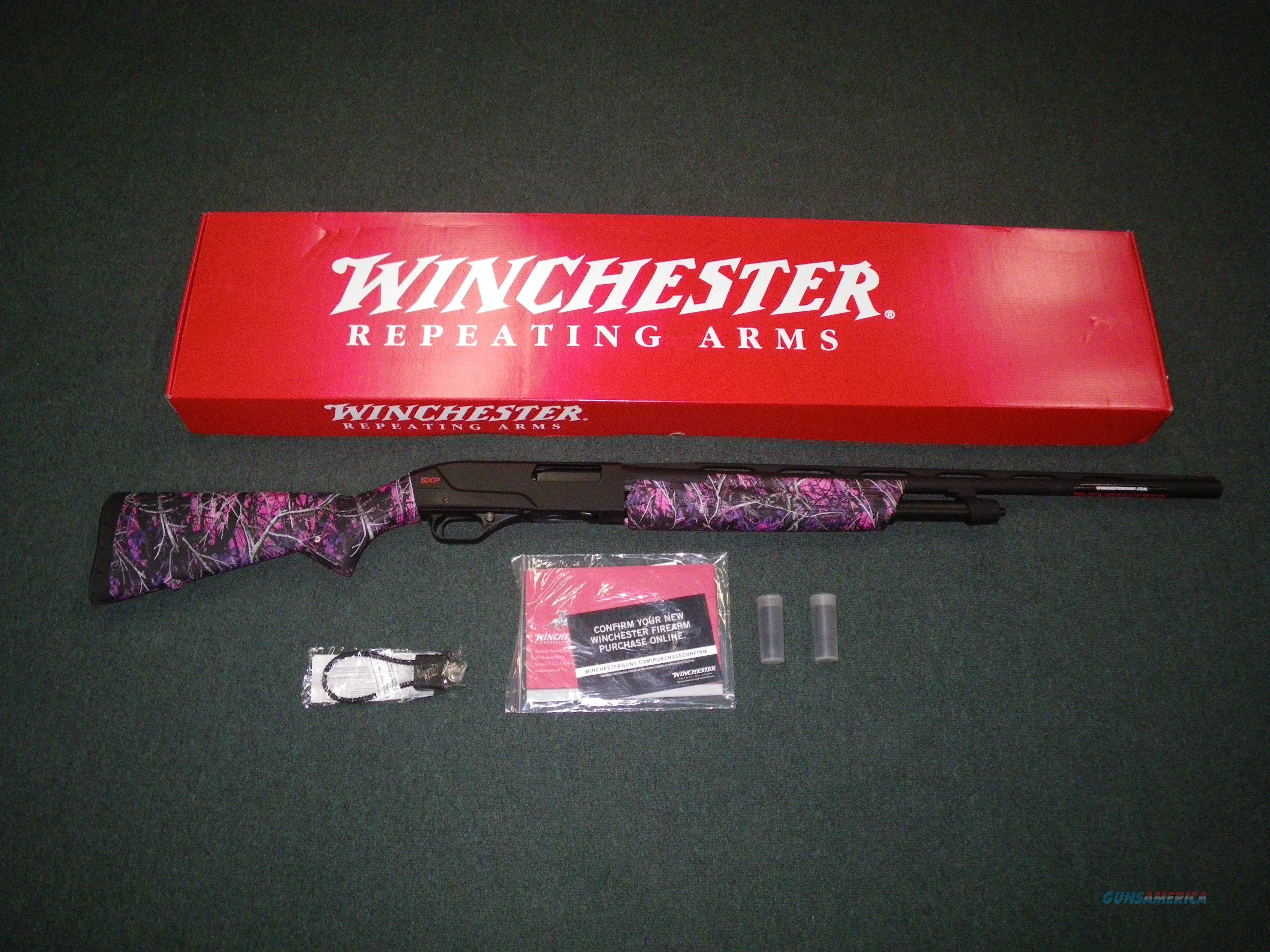 "Winchester SXP Muddy Girl 20ga 26"" NEW 3"" Chamber #512325691  Guns > Shotguns > Winchester Shotguns - Modern > Pump Action > Hunting"