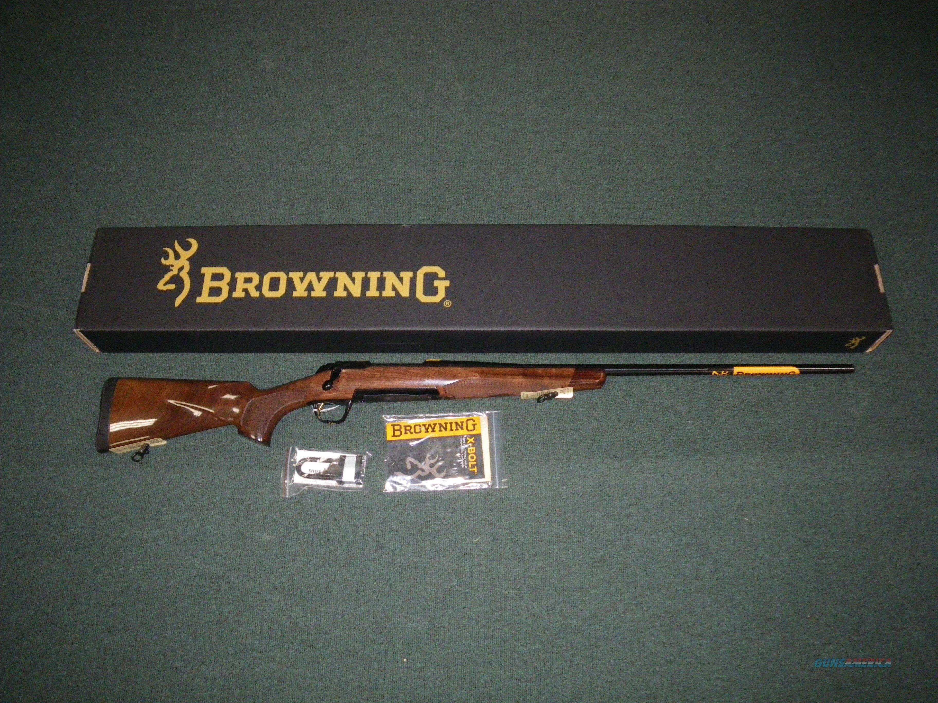 "Browning X-Bolt Medallion 7mm Rem Mag 26"" NIB #035200227  Guns > Rifles > Browning Rifles > Bolt Action > Hunting > Blue"