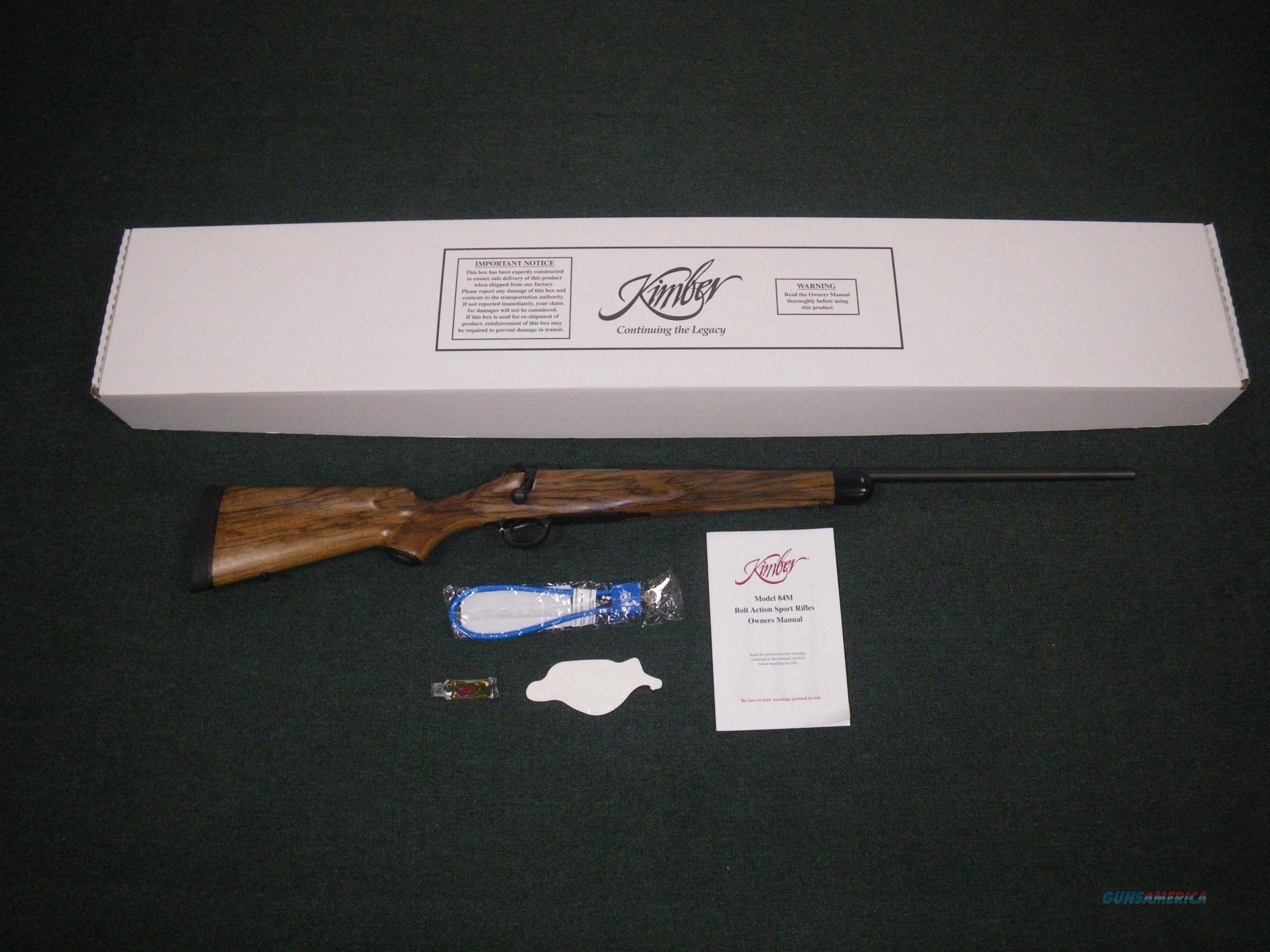 "Kimber 84M Classic Select Grade 308 Win 22"" NEW #3000667  Guns > Rifles > Kimber of America Rifles"