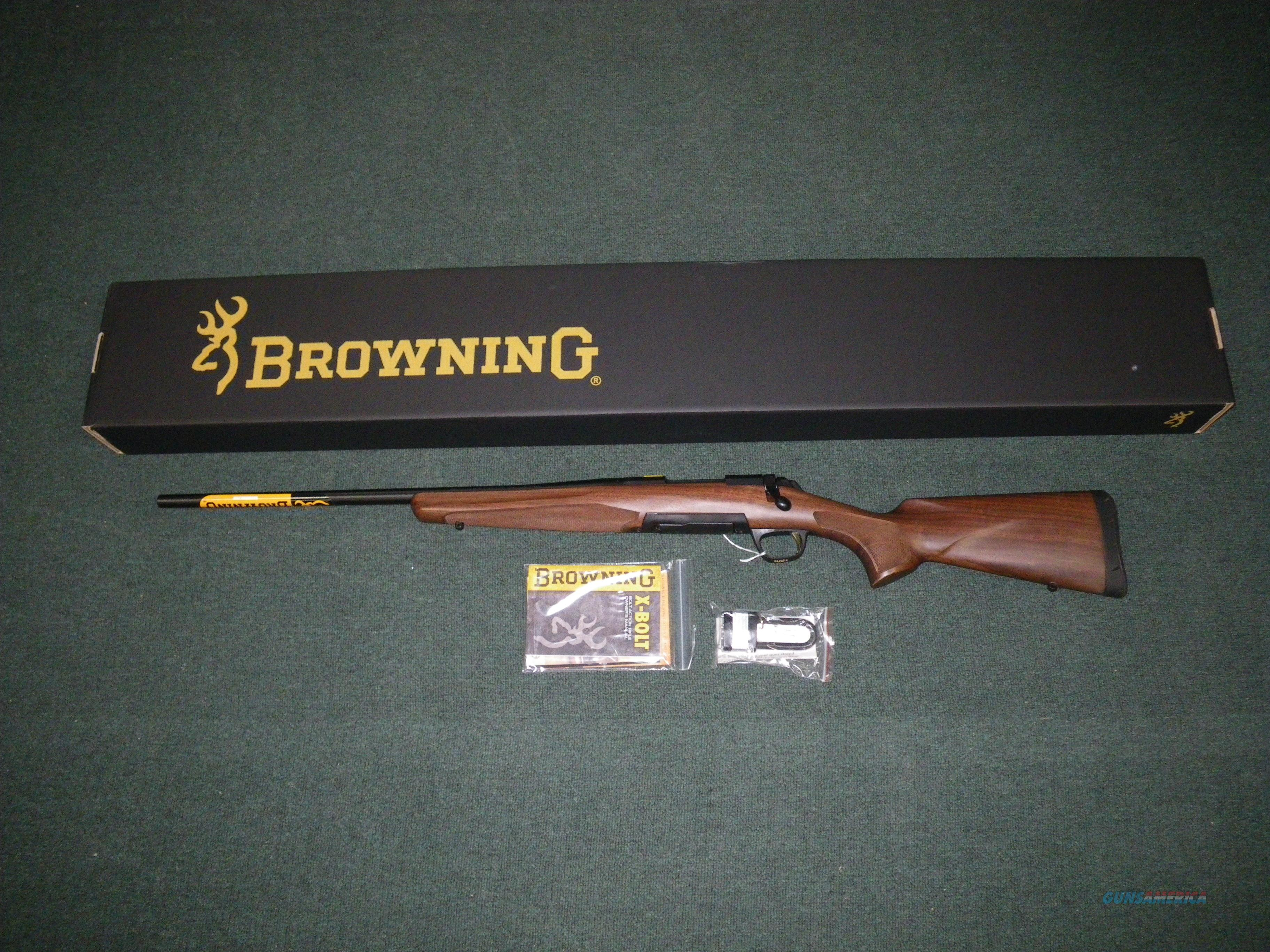"Browning X-Bolt Hunter Left Hand 308 Win 22"" NIB #035255218  Guns > Rifles > Browning Rifles > Bolt Action > Hunting > Blue"