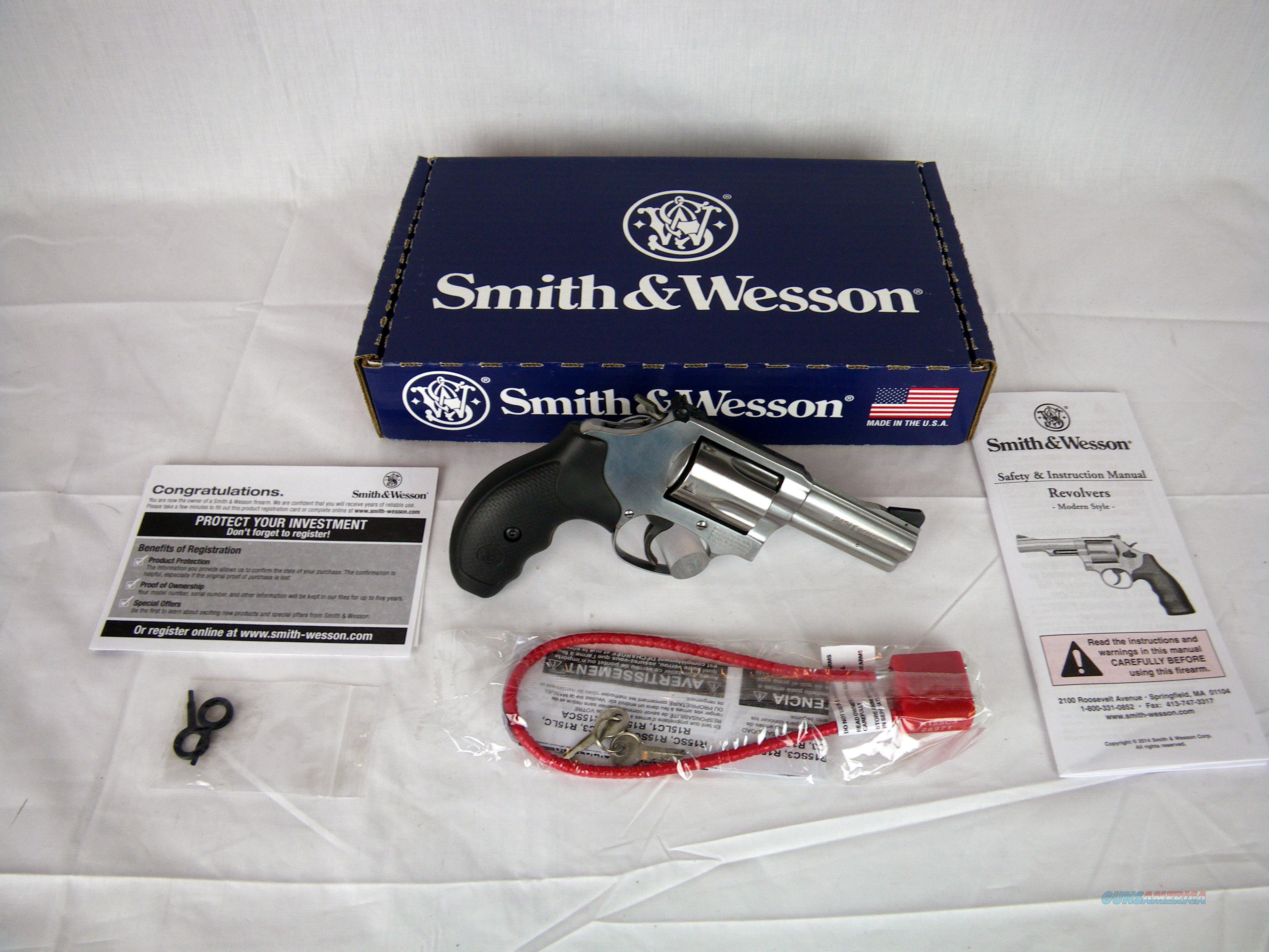 "Smith & Wesson Model 60 Stnls S&W 357 Mag 3"" NEW #162430  Guns > Pistols > Smith & Wesson Revolvers > Small Frame ( J )"
