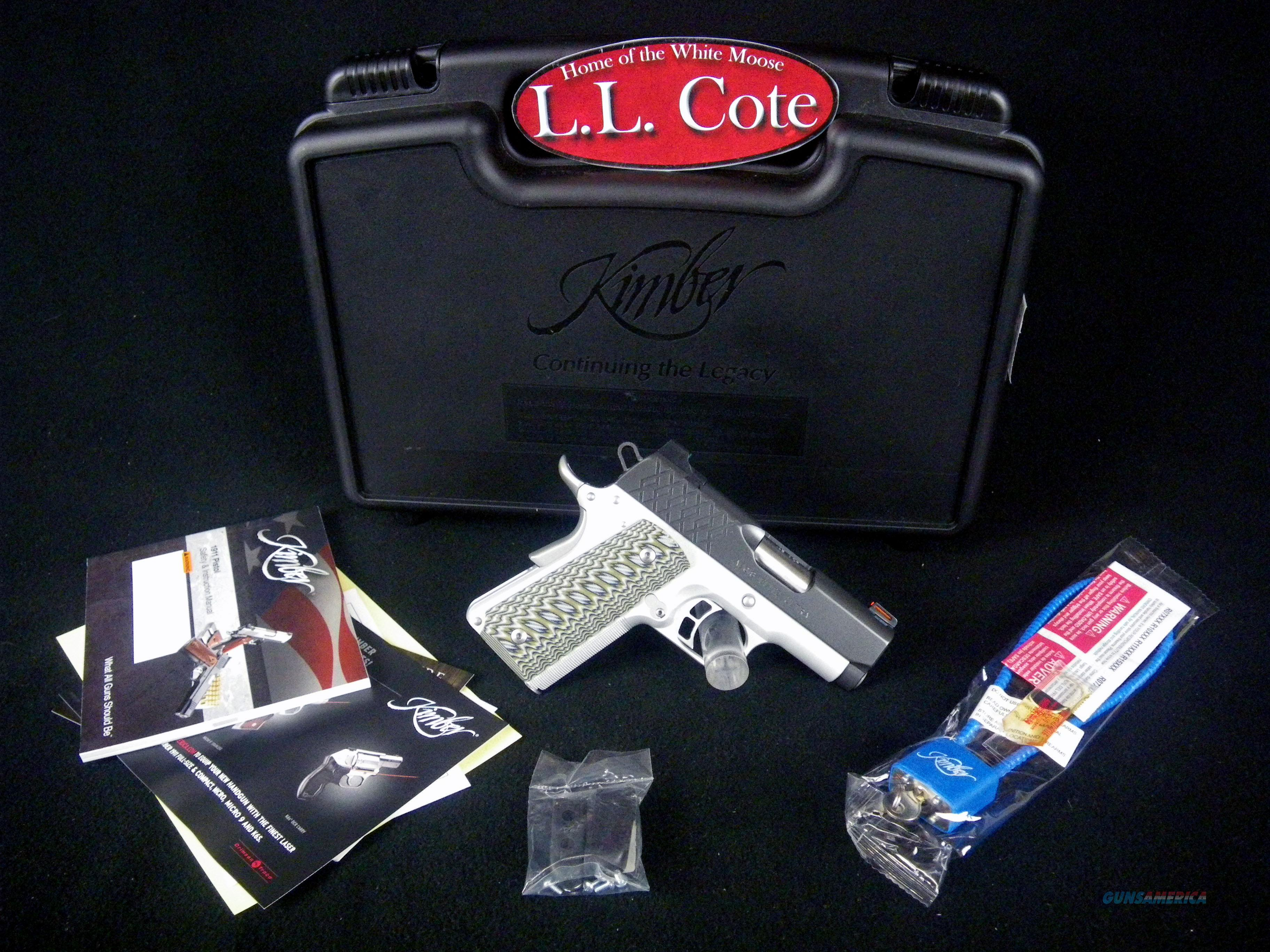 "Kimber Aegis Elite Ultra 45acp 3"" G10 NEW 3000356  Guns > Pistols > Kimber of America Pistols > 1911"