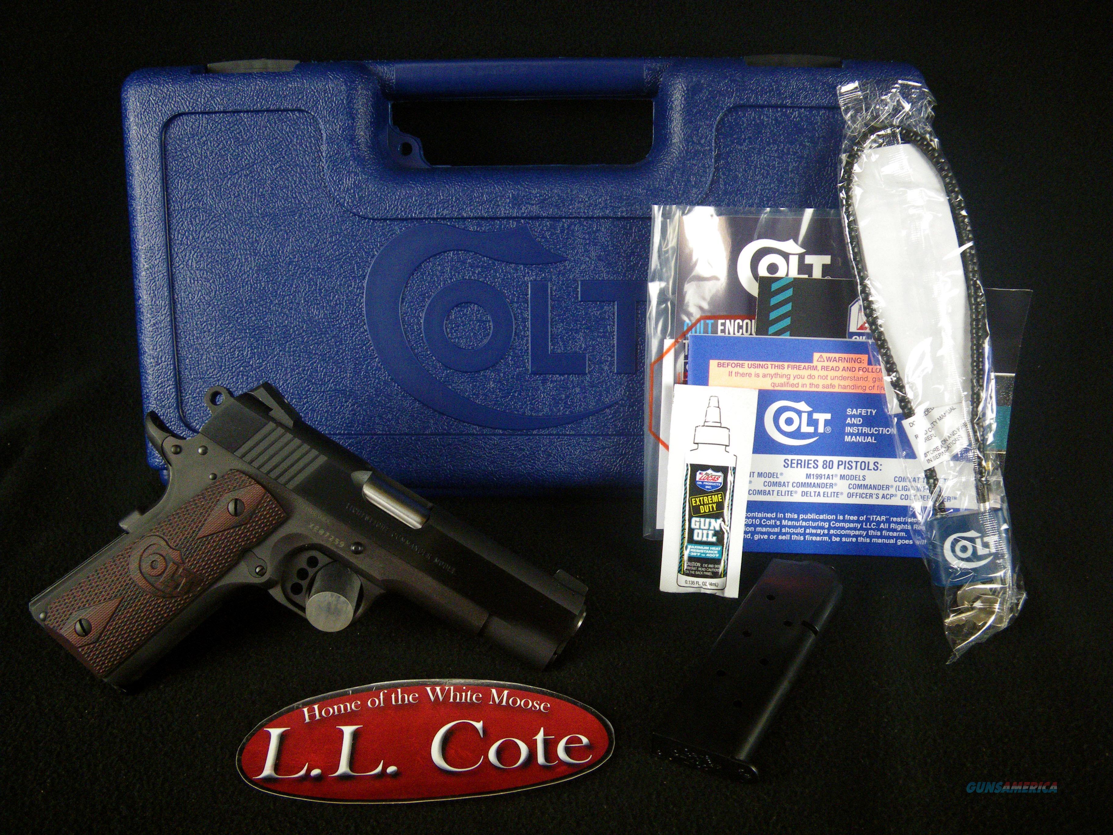"Colt Lightweight Commander 45ACP 4.25"" NEW O4840XE  Guns > Pistols > Colt Automatic Pistols (1911 & Var)"
