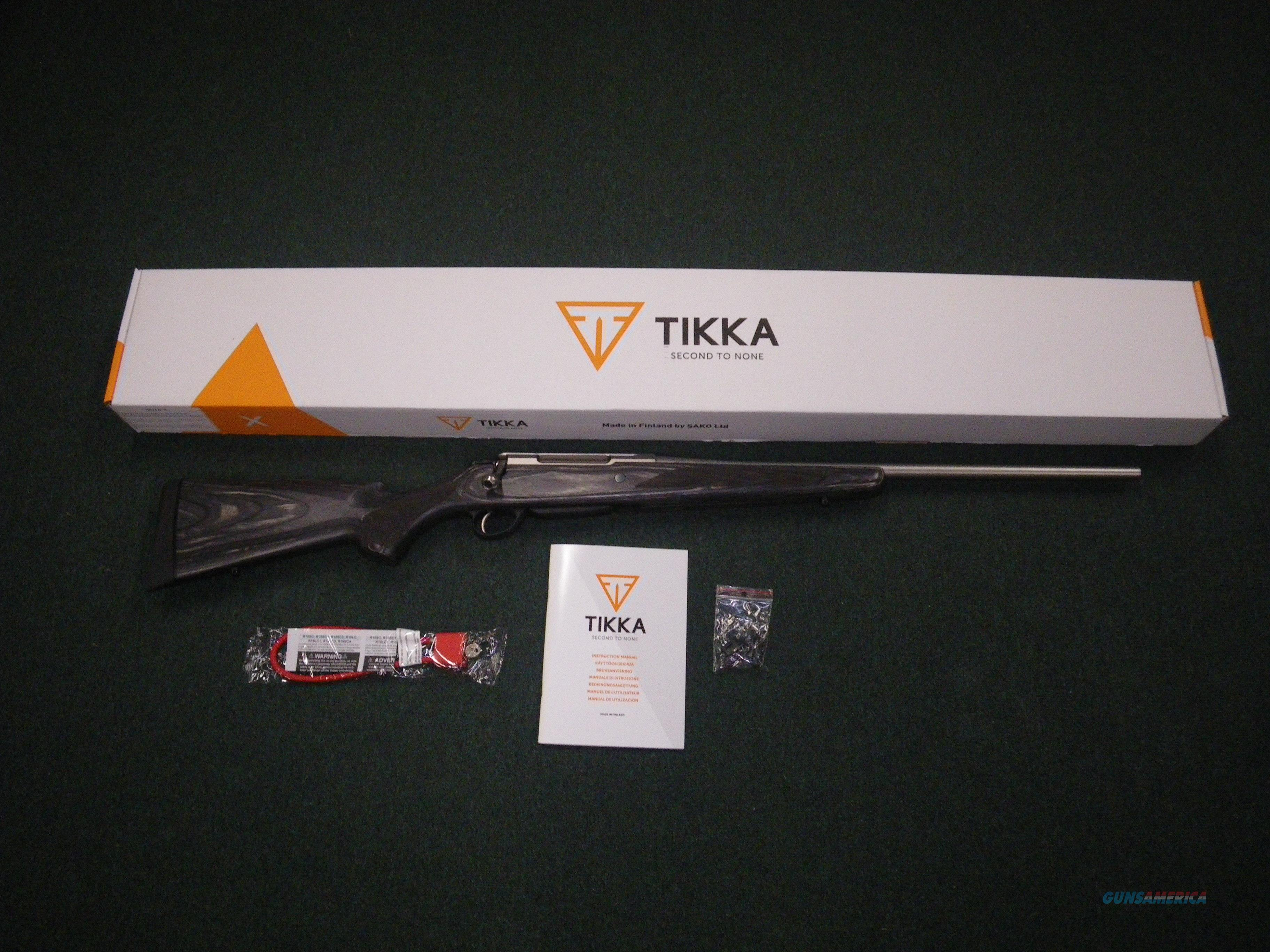 "Tikka T3x Laminated Stainless 7mm Rem Mag 24.3"" NEW #JRTXG370  Guns > Rifles > Tikka Rifles > T3"