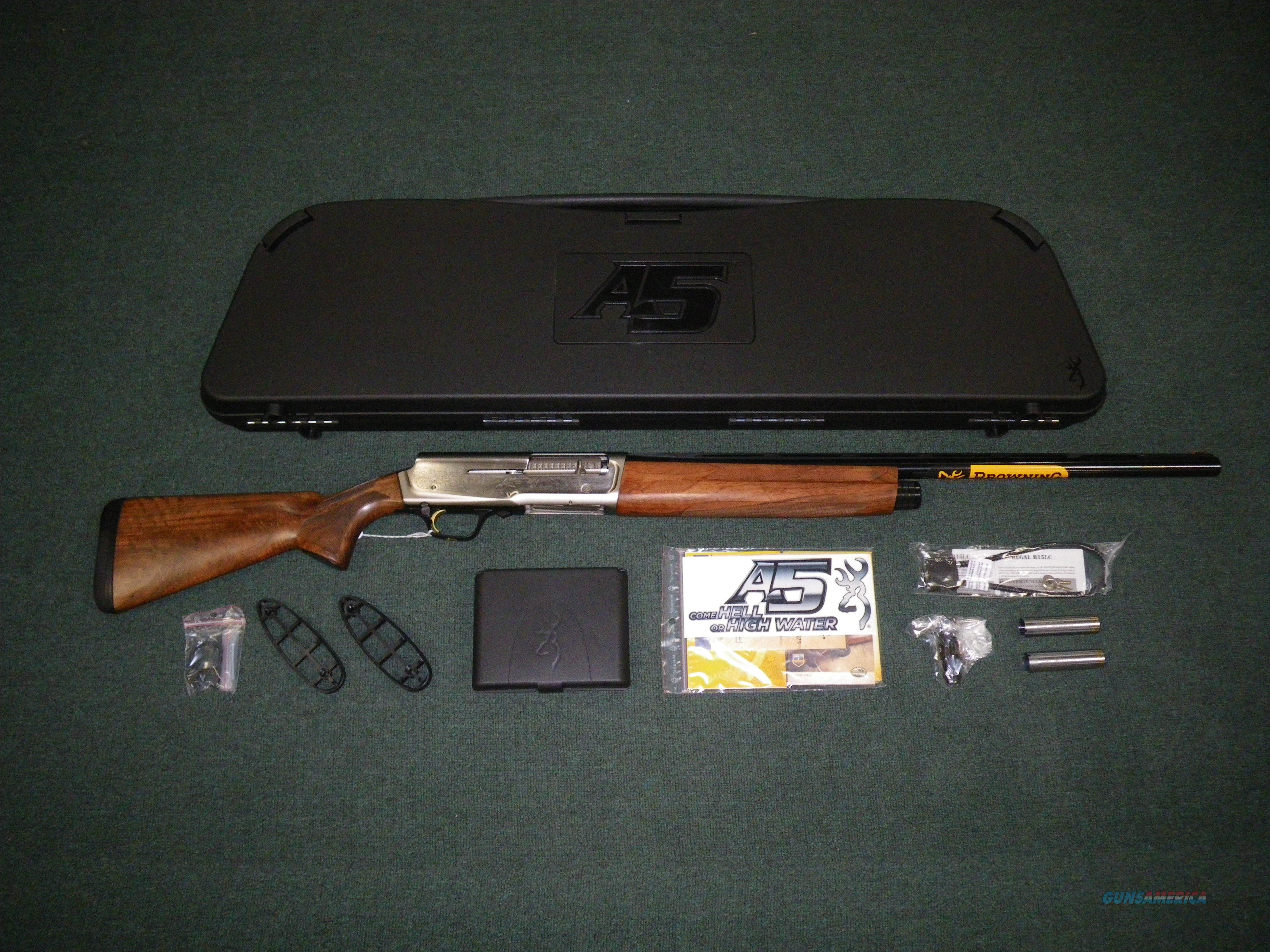 """Browning A5 Ultimate 12ga 26"""" NEW Grade III Wood #0118203005  Guns > Shotguns > Browning Shotguns > Autoloaders > Hunting"""