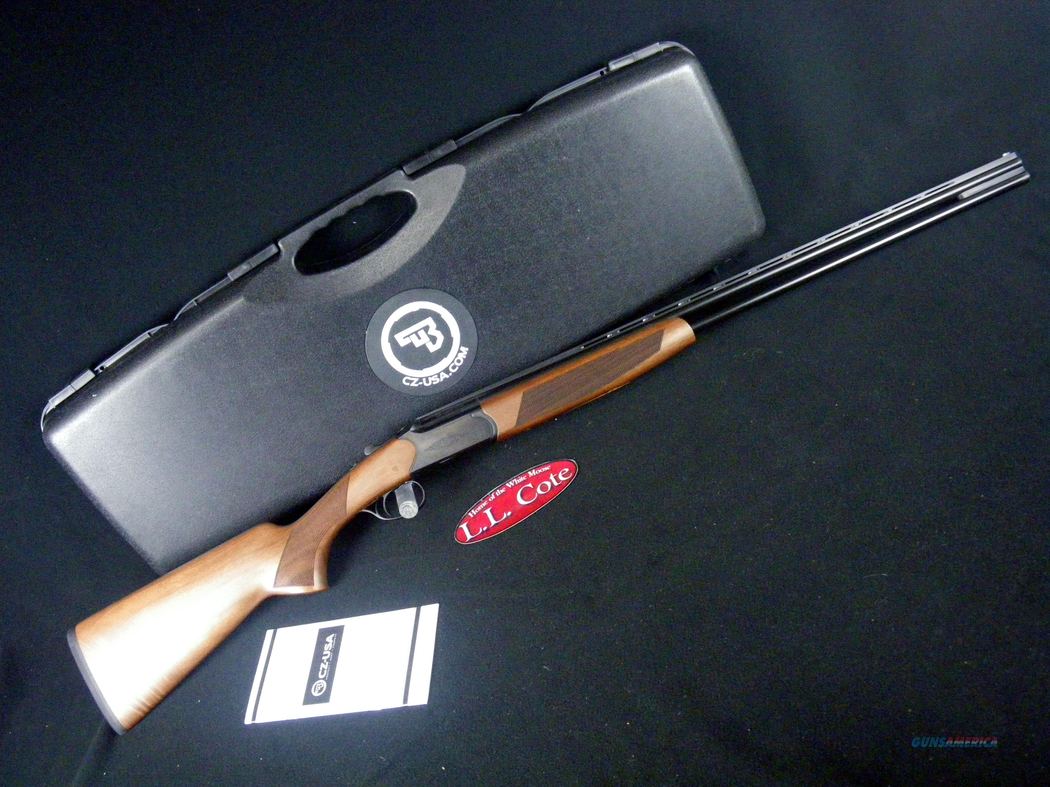 "CZ Drake Walnut/Blued 410ga 28"" NEW 3"" 06489  Guns > Shotguns > CZ Shotguns"