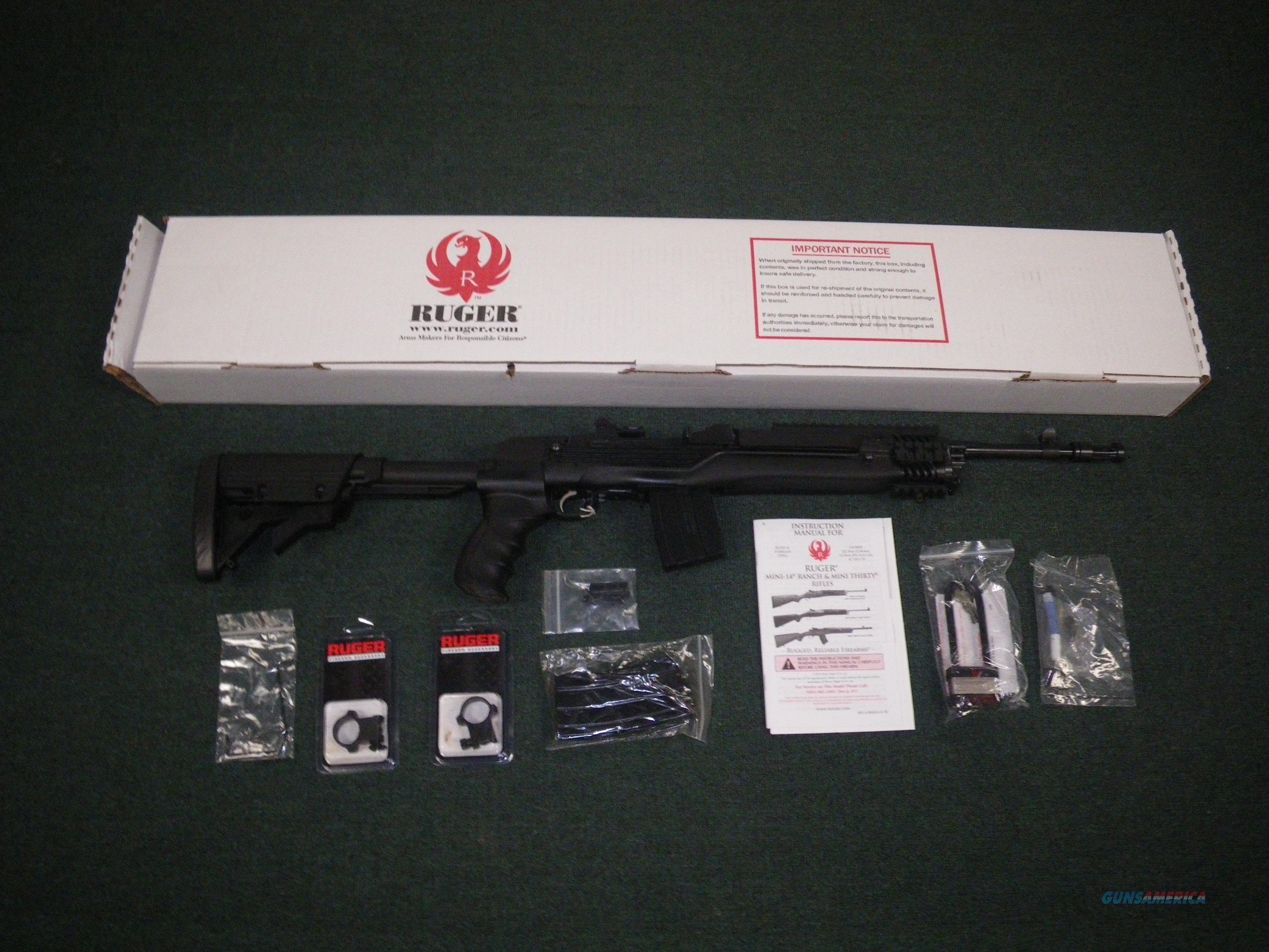 "Ruger Mini-14 Tactical ATI Stock 5.56/223 16"" NEW #5846  Guns > Rifles > Ruger Rifles > Mini-14 Type"