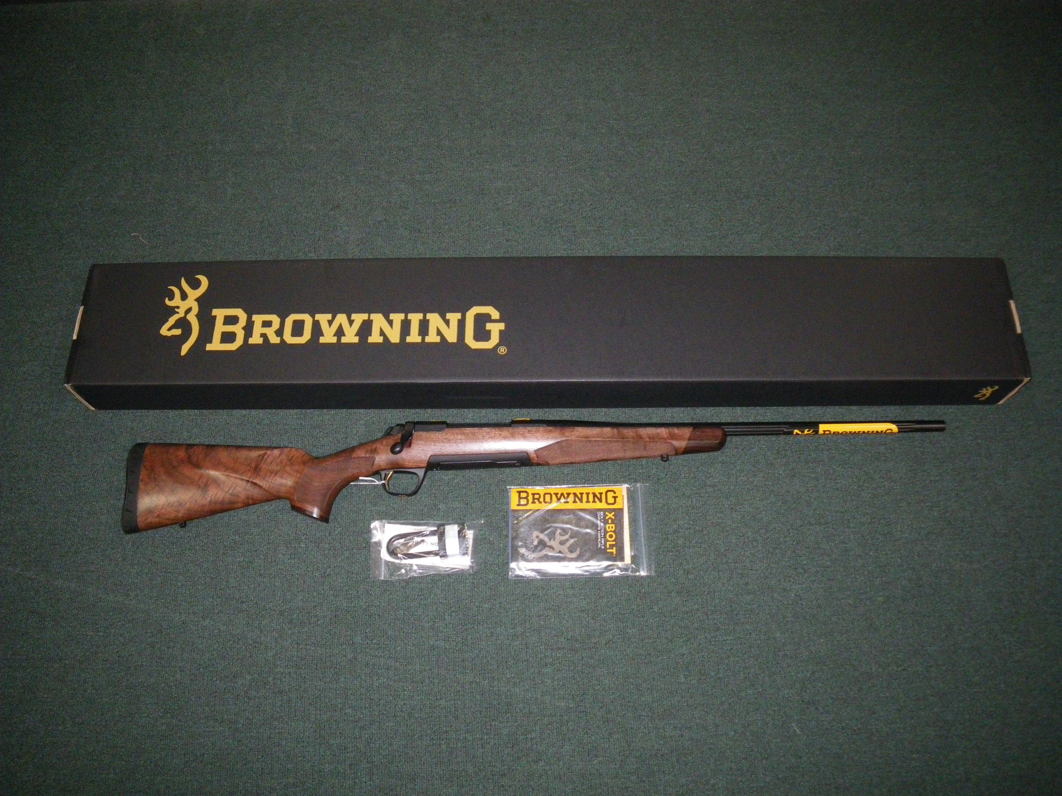 "Browning High Grade Hunter Fluted 308 Win 22"" #035373218  Guns > Rifles > Browning Rifles > Bolt Action > Hunting > Blue"
