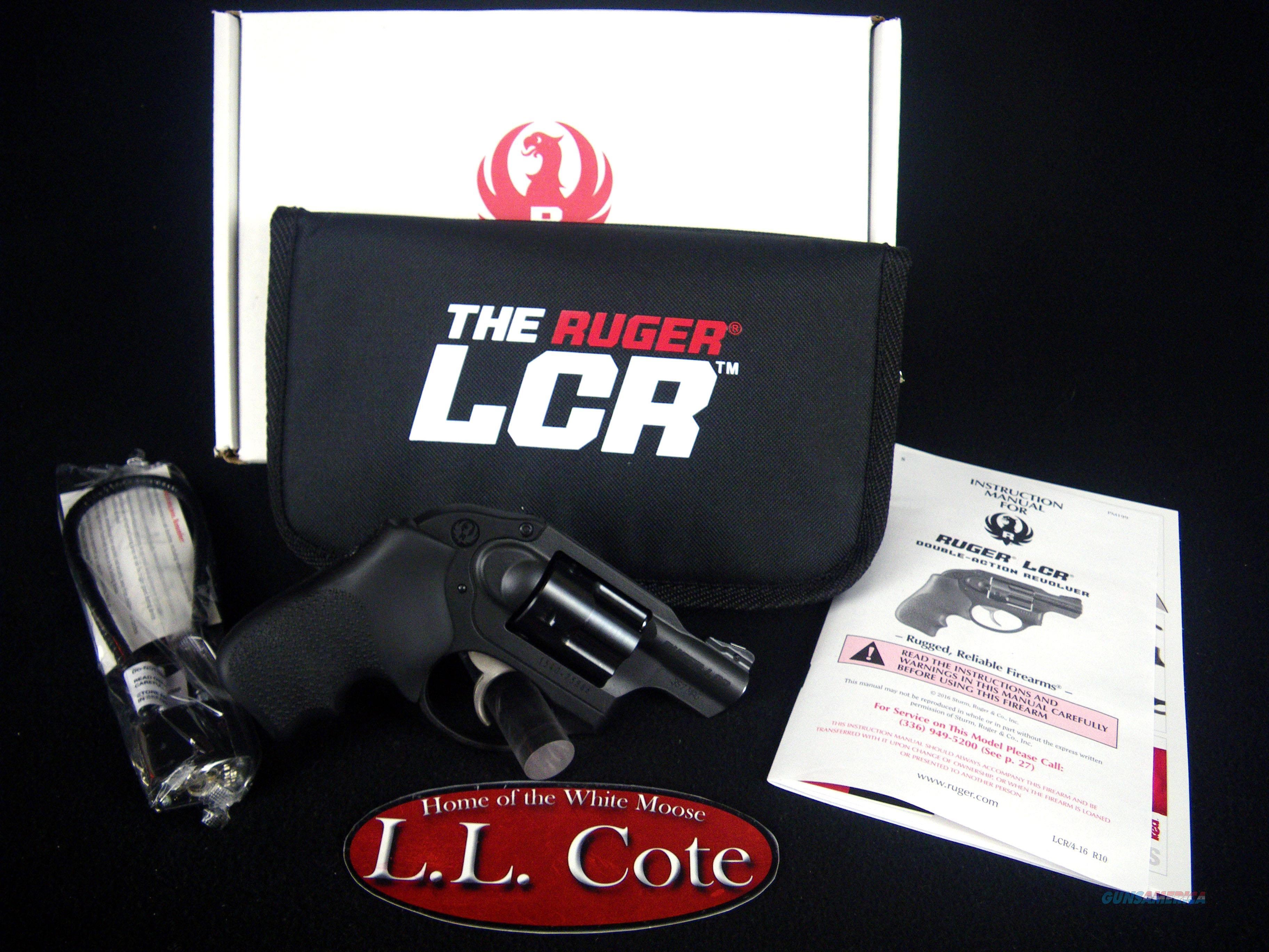 "Ruger LCR 357 Mag 1.87"" Black/Rubber NEW 5450  Guns > Pistols > Ruger Double Action Revolver > LCR"