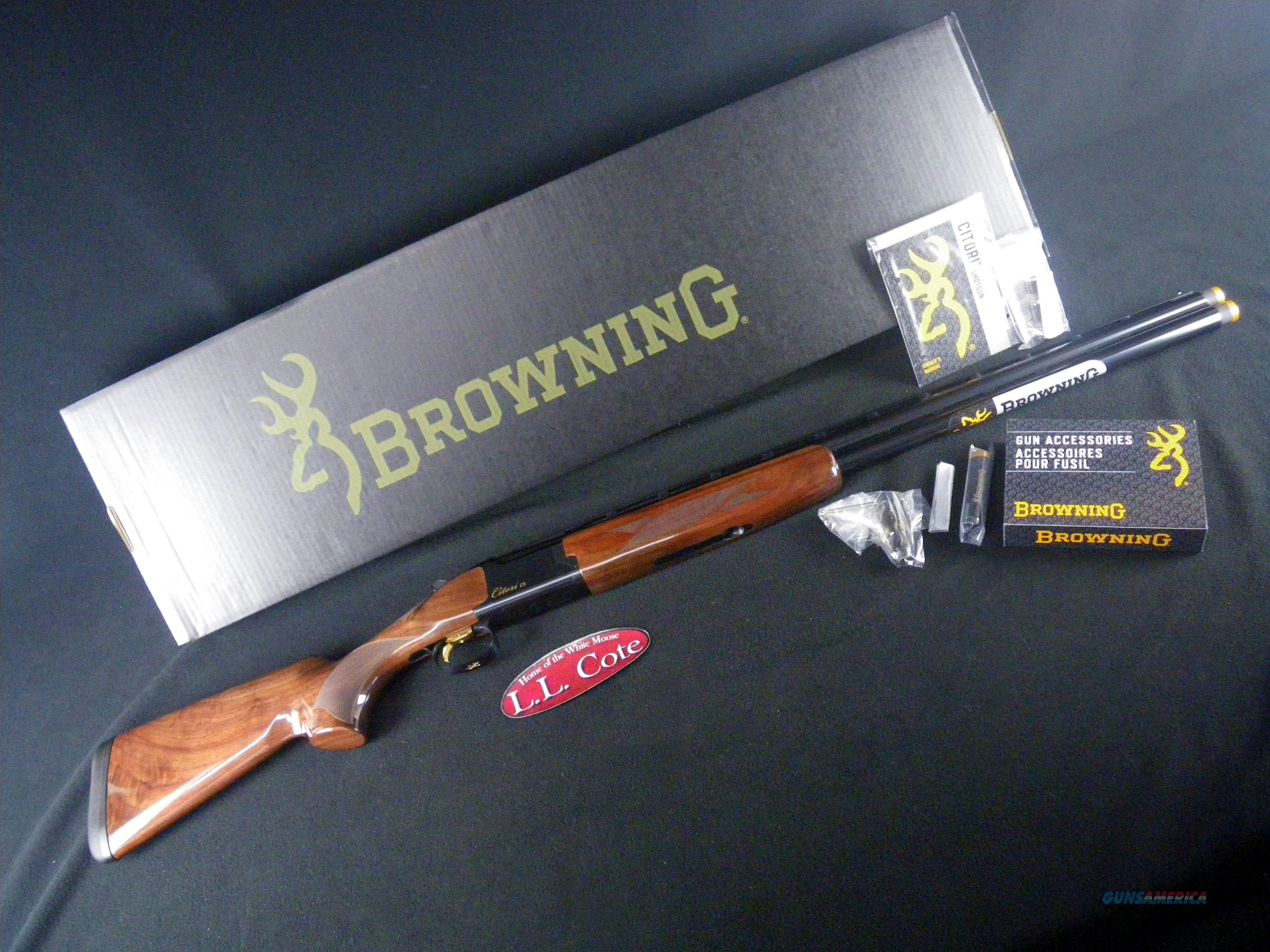"Browning Citori CX 12ga 3"" 32"" NEW 3"" 018115302  Guns > Shotguns > Browning Shotguns > Over Unders > Citori > Hunting"