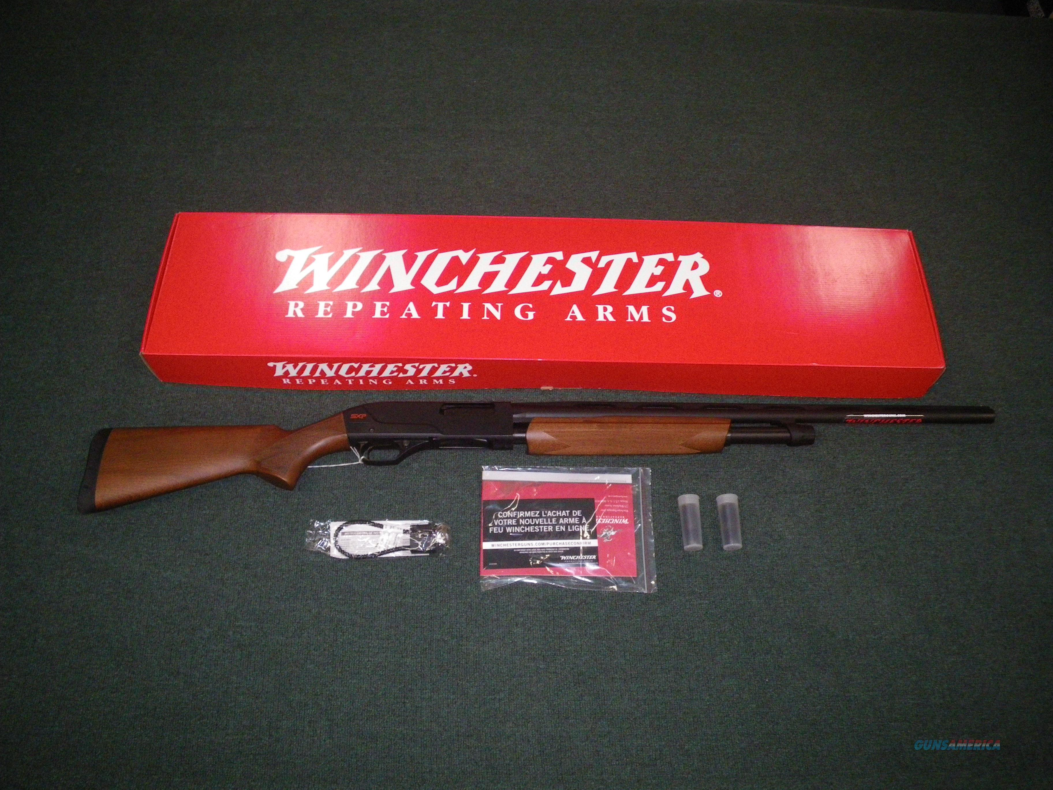 "Winchester Super X Pump SXP Field 12ga 26"" 3"" NEW #512266391  Guns > Shotguns > Winchester Shotguns - Modern > Pump Action > Hunting"