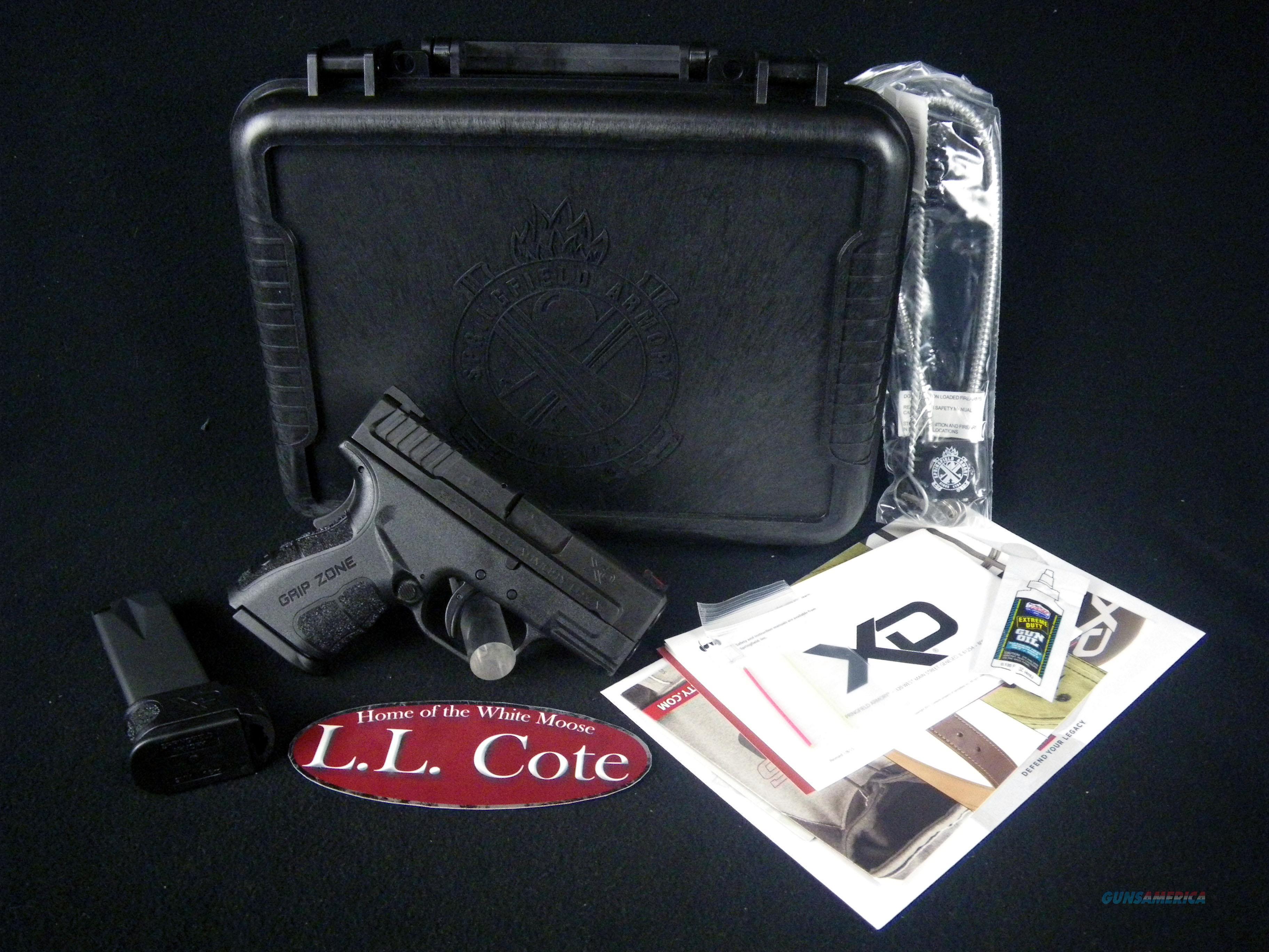 "Springfield XD Mod.2 Sub-Compact Black 9mm 3"" NEW XDG9801HC  Guns > Pistols > Springfield Armory Pistols > XD (eXtreme Duty)"