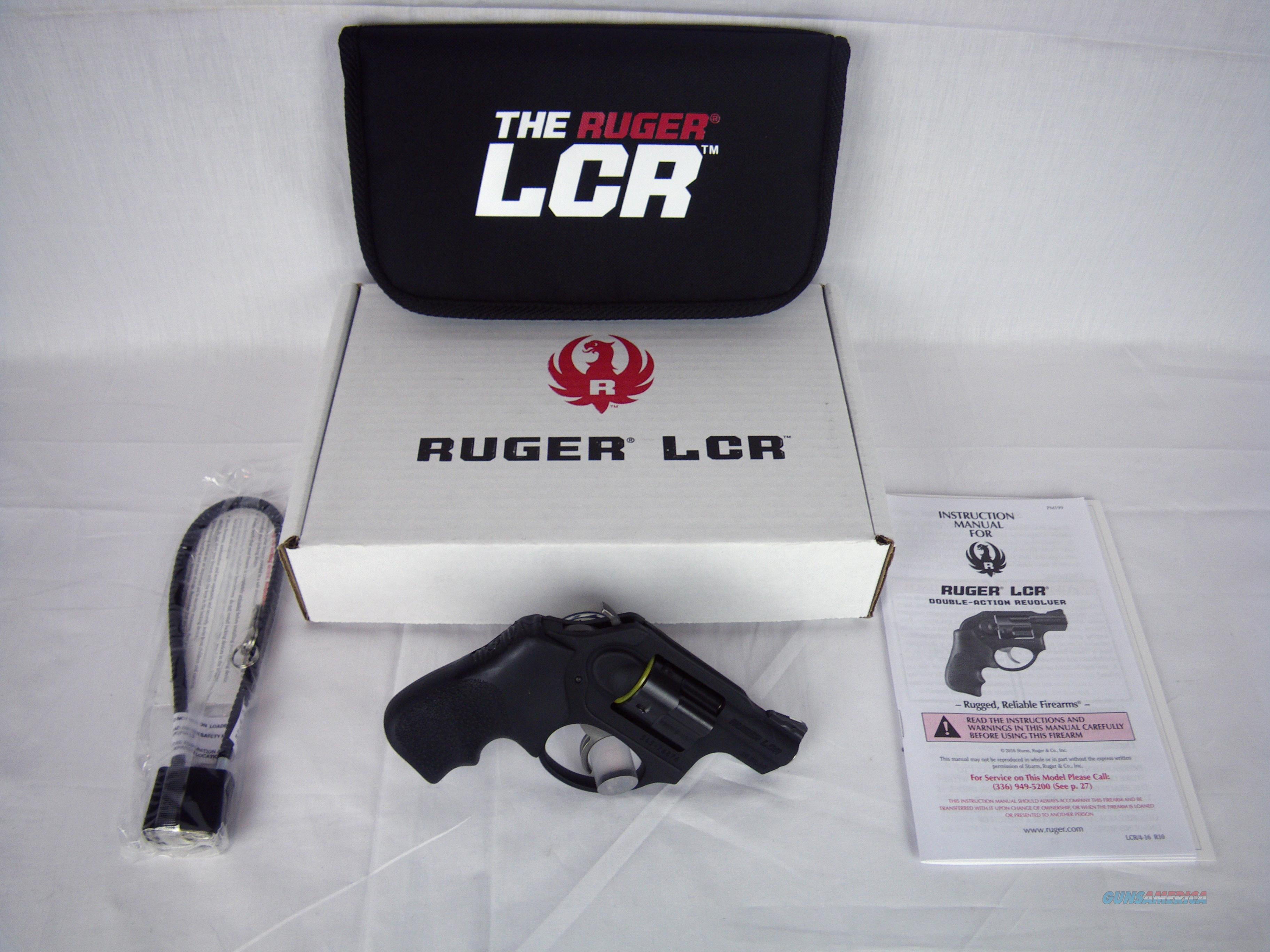 "Ruger LCRx Revolver 38 Spl +P 1.87"" NEW #5430  Guns > Pistols > Ruger Double Action Revolver > LCR"