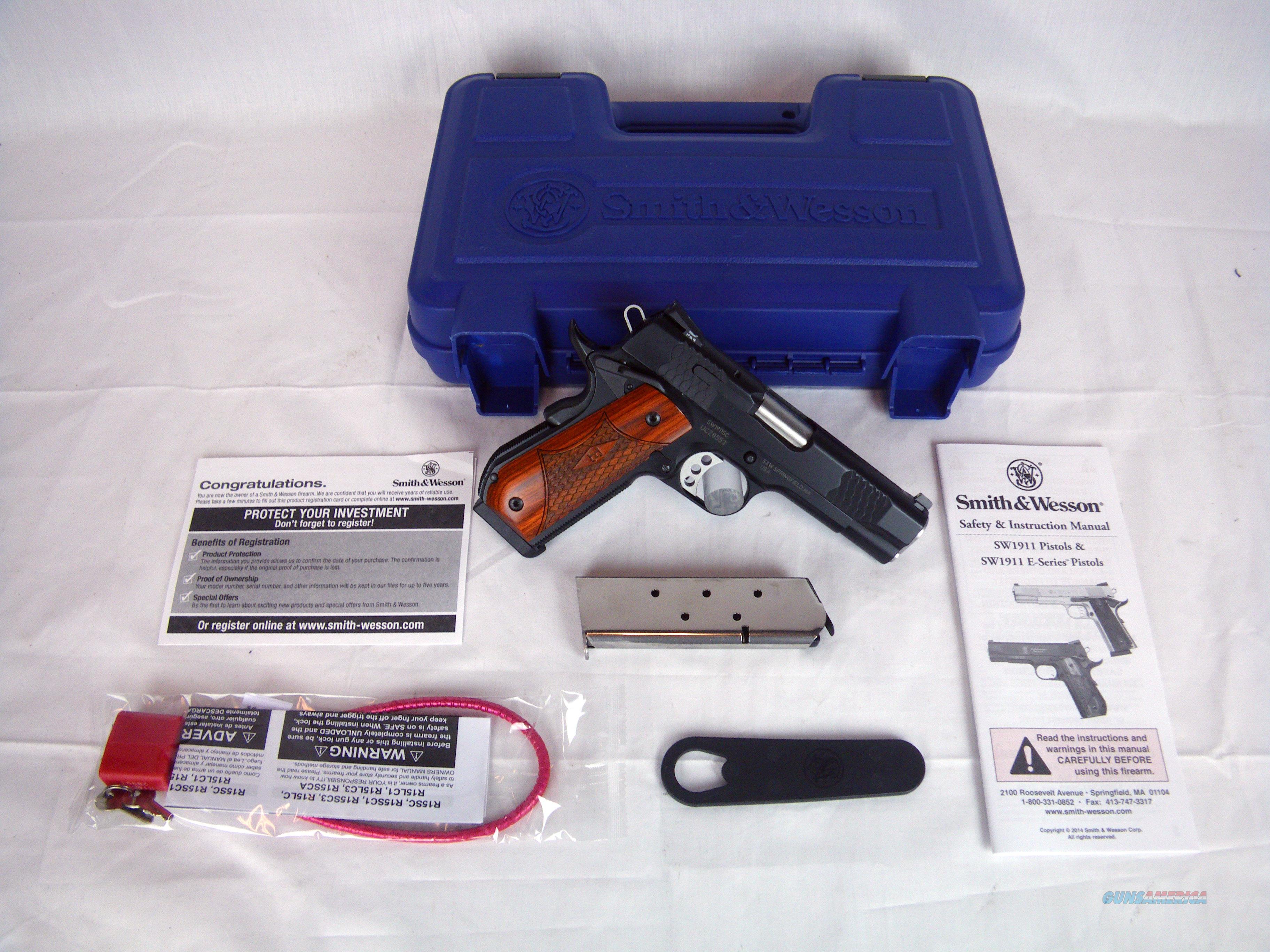 "Smith & Wesson SW1911SC Scandium 45ACP 4.25"" NEW #108483  Guns > Pistols > Smith & Wesson Pistols - Autos > Alloy Frame"