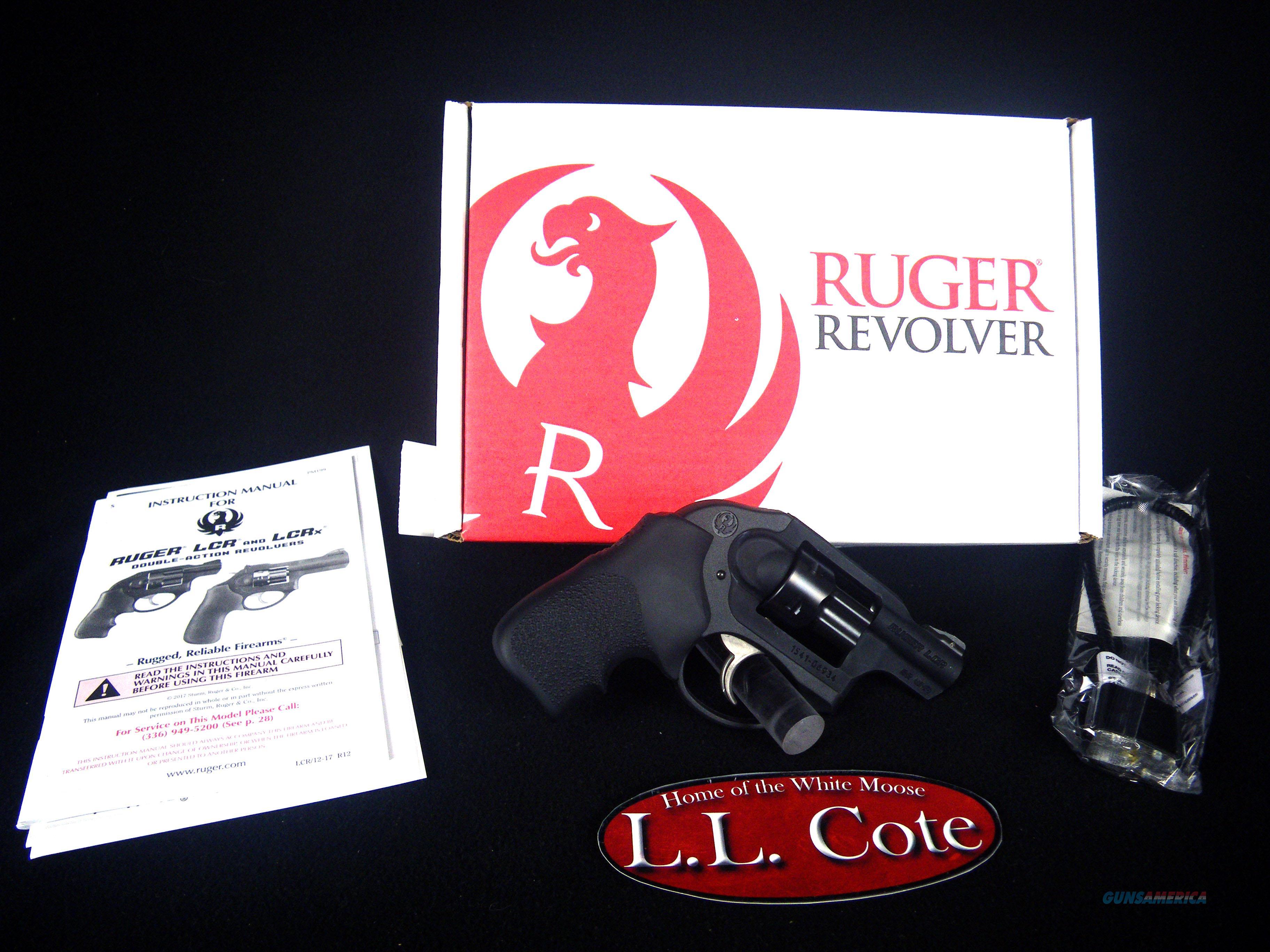 "Ruger LCR 22wmr 1.87"" Black/Rubber 6rnd NEW 5414  Guns > Pistols > Ruger Double Action Revolver > LCR"