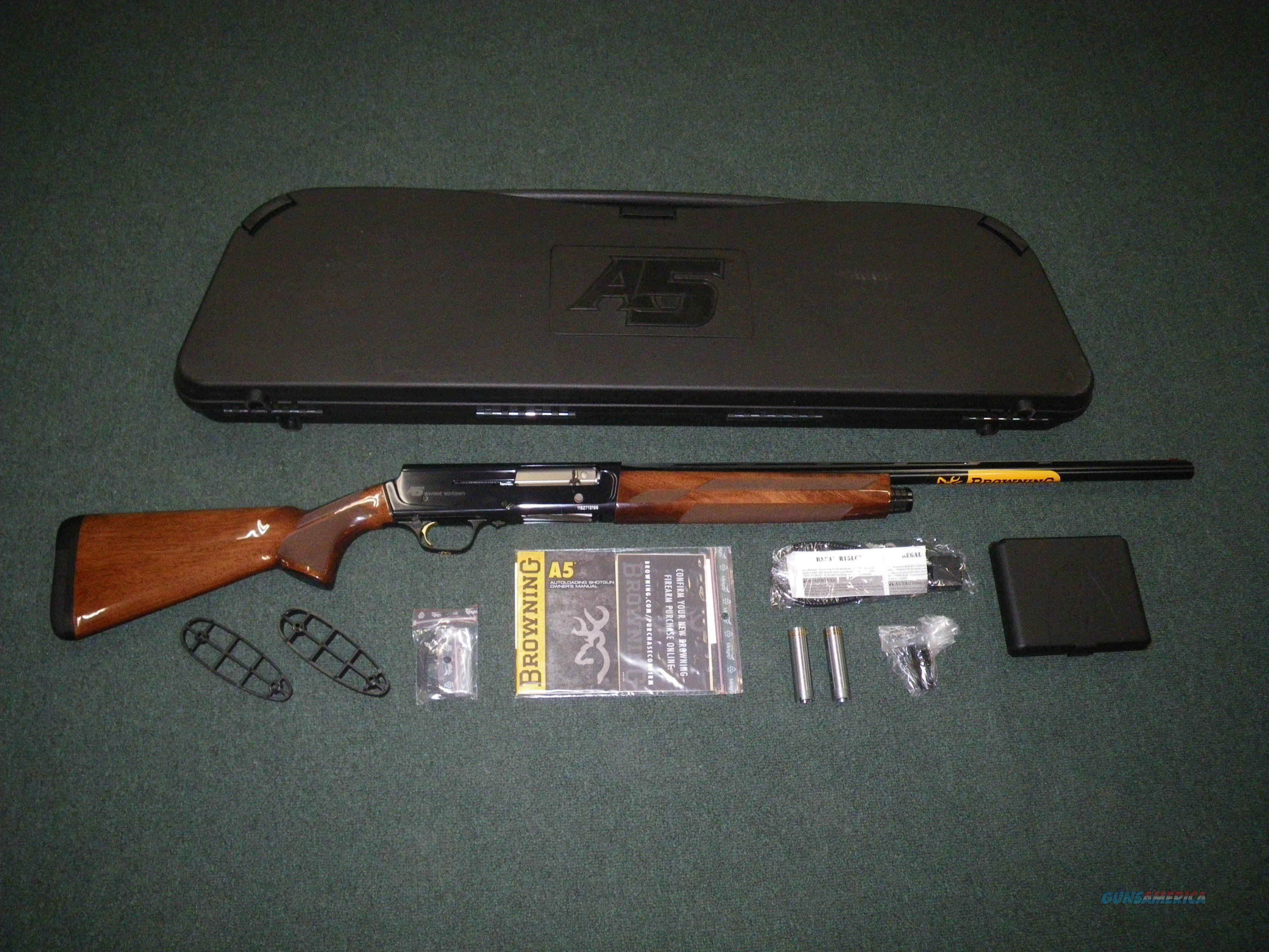 """Browning A5 Sweet Sixteen 16ga 26"""" 2-3/4"""" NEW Wood #0118005005  Guns > Shotguns > Browning Shotguns > Autoloaders > Hunting"""