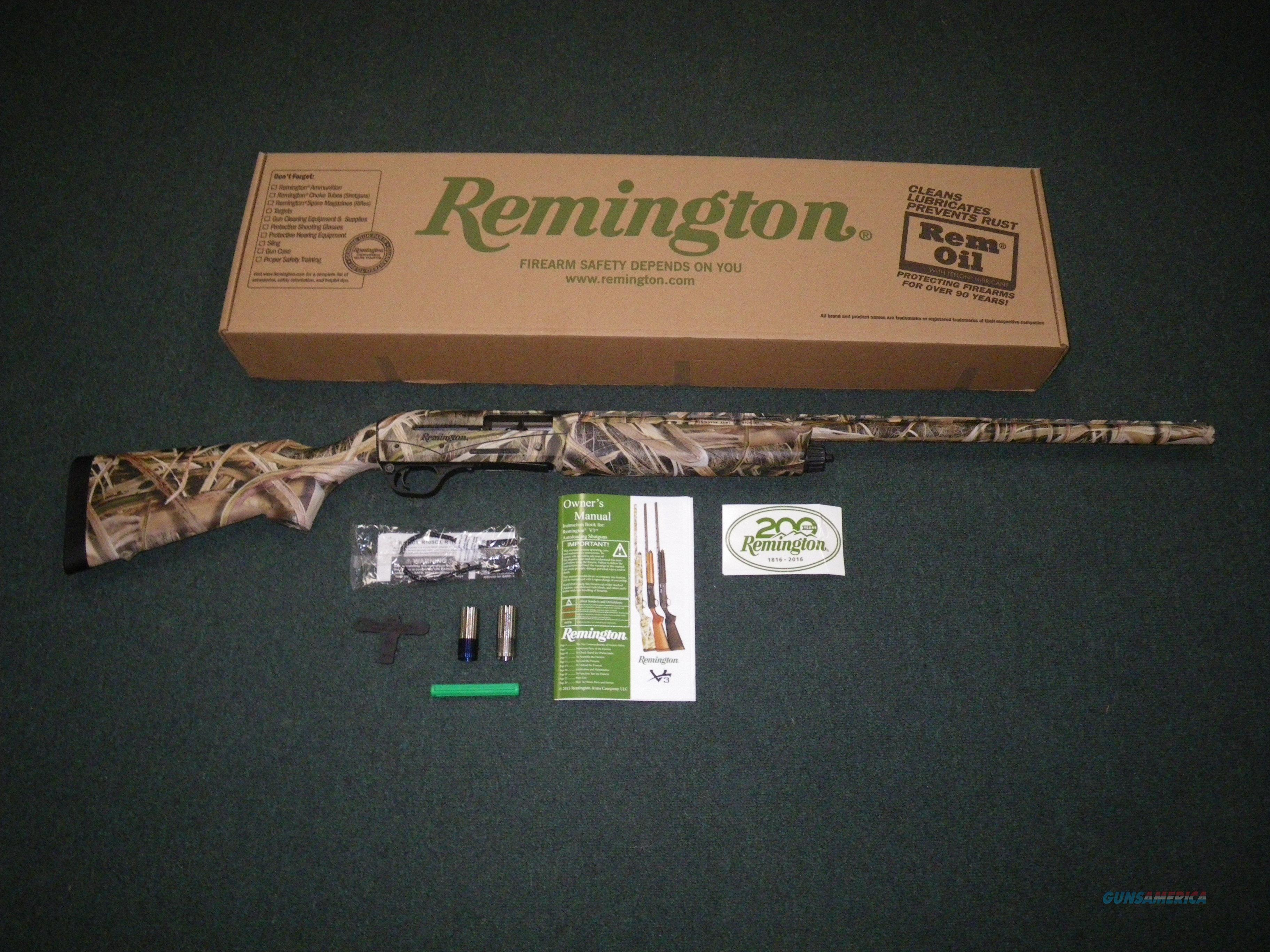 "Remington V3 Field Sport MO Blades 12ga 28"" NEW 3"" #83406  Guns > Shotguns > Remington Shotguns  > Autoloaders > Hunting"