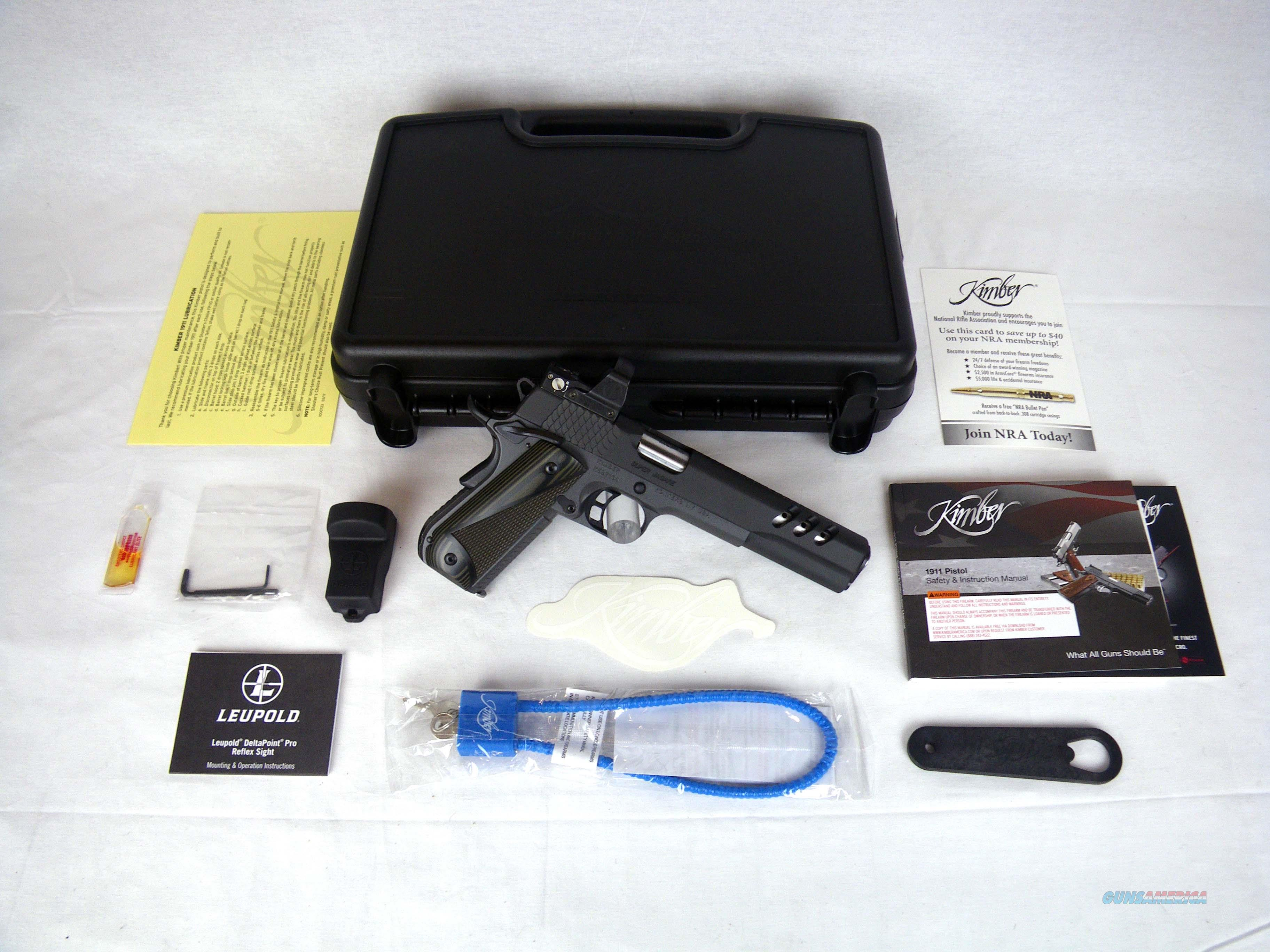 "Kimber Super Jagare 10mm 6"" Ported NEW 3000278  Guns > Pistols > Kimber of America Pistols > 1911"