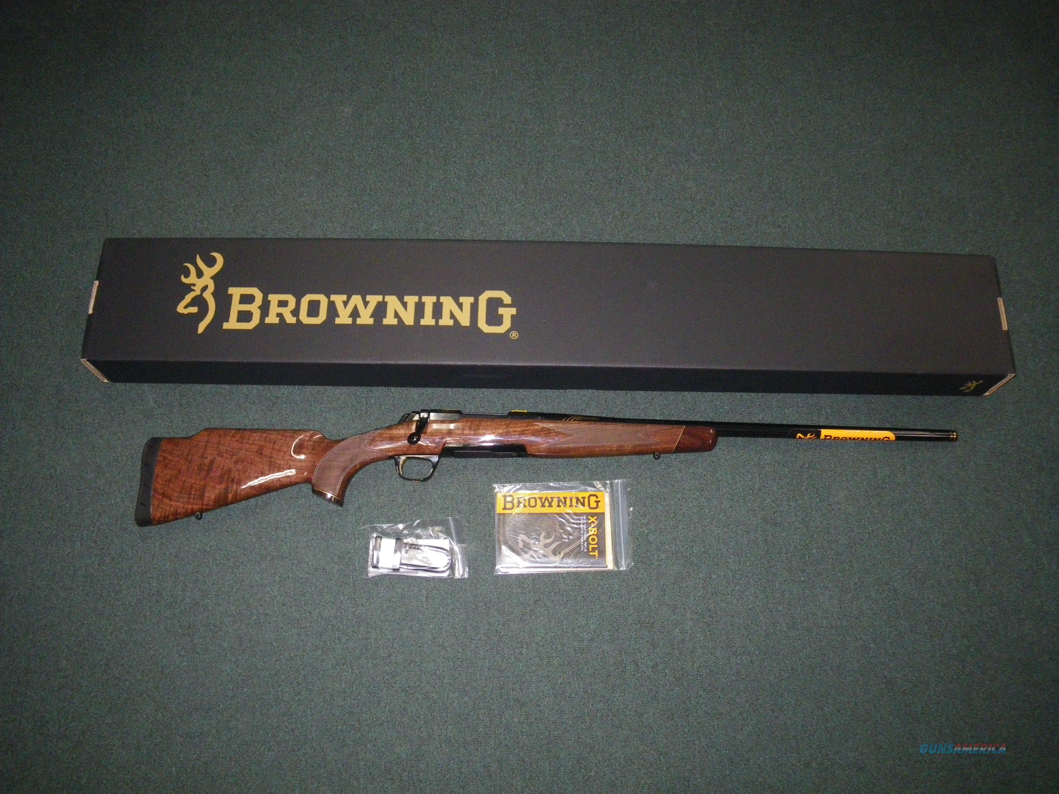 "Browning X-Bolt Medallion Safari 6.5 Creed 24"" NEW #035417282  Guns > Rifles > Browning Rifles > Bolt Action > Hunting > Blue"
