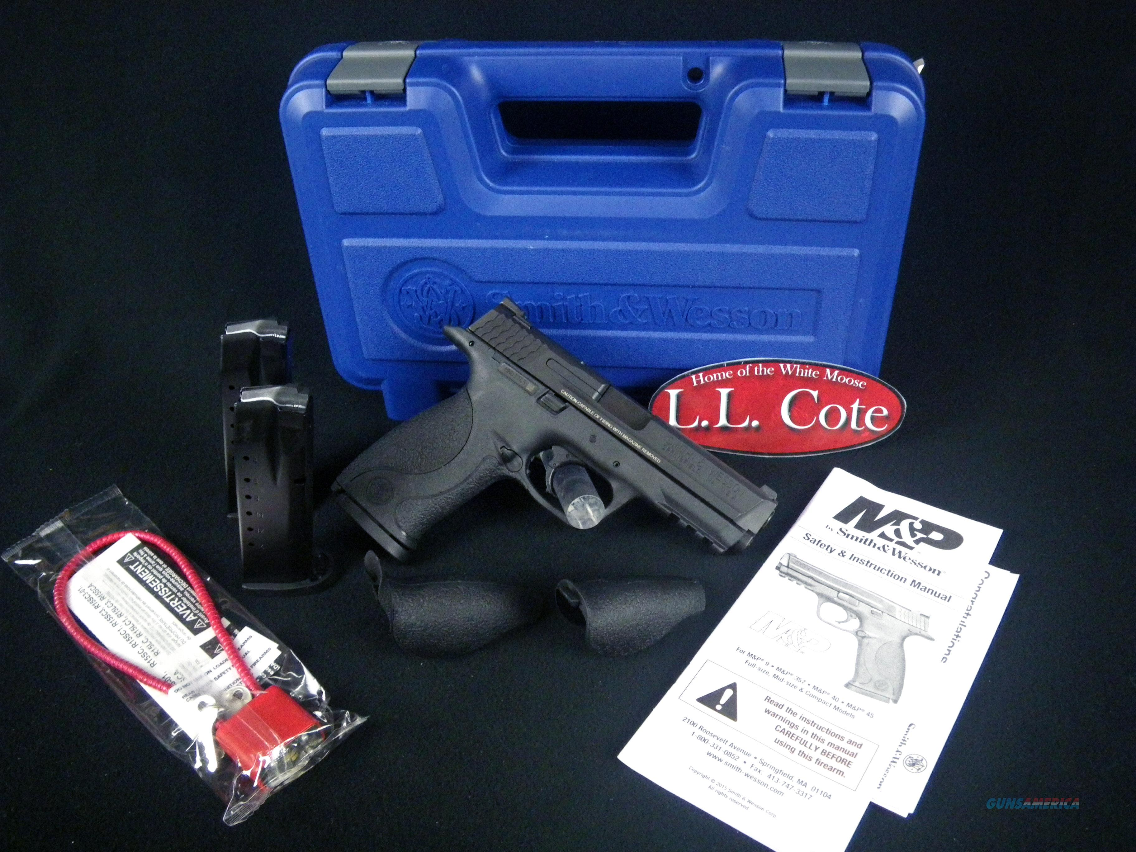 "Smith & Wesson M&P40 40 S&W 4.25"" NEW 309300  Guns > Pistols > Smith & Wesson Pistols - Autos > Polymer Frame"
