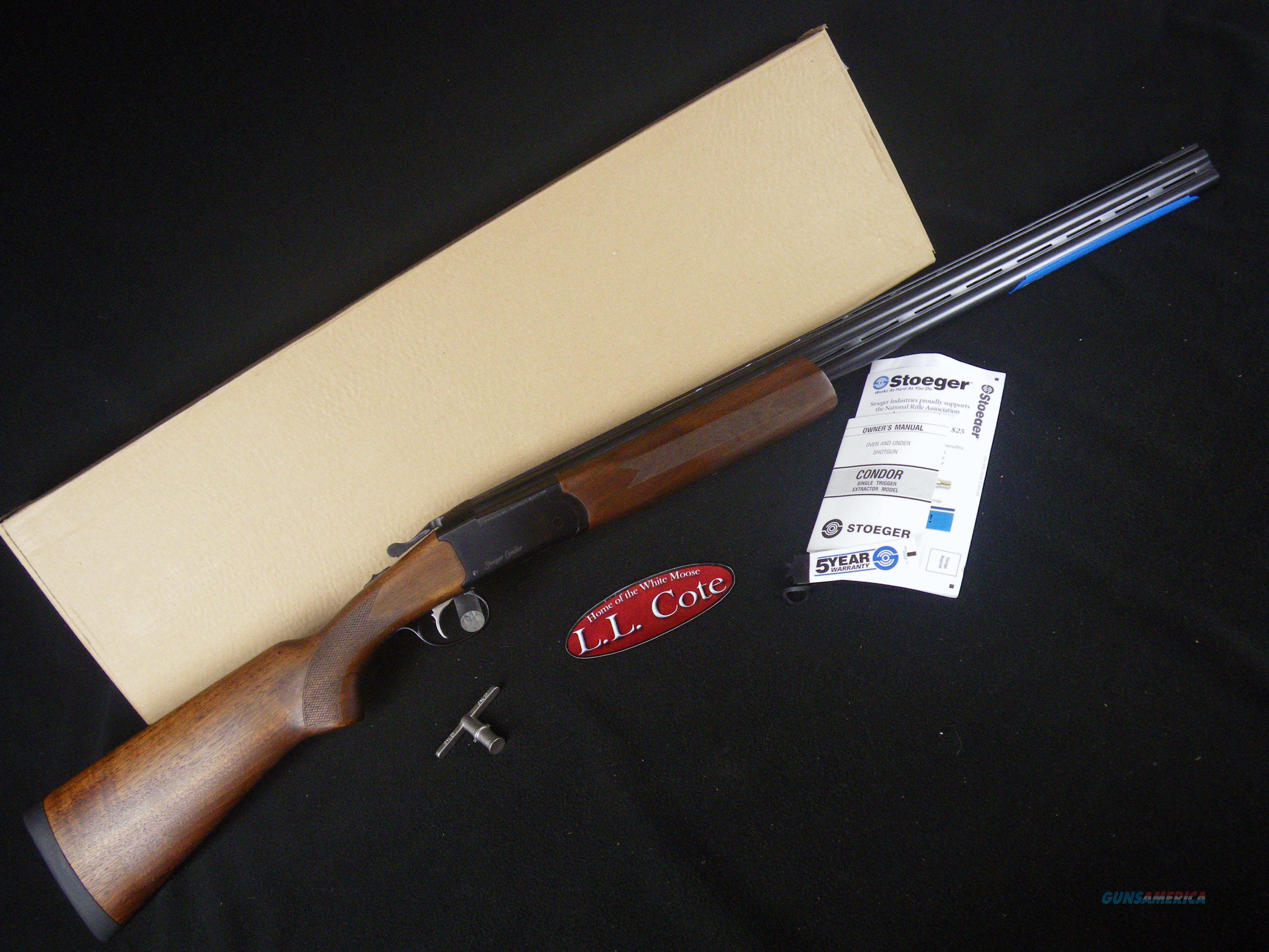 "Stoeger Condor Field 20ga 28"" Walnut NEW 31040  Guns > Shotguns > Stoeger Shotguns"